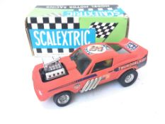 A Rare Boxed Scalextric Ford-Mustang Dragster Ref 4049