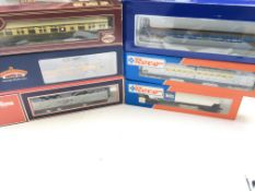 A Collection of 7 '00' Gauge Boxed Coaches. Includ