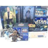 A Collection of Star Wars Merchandise, including 2