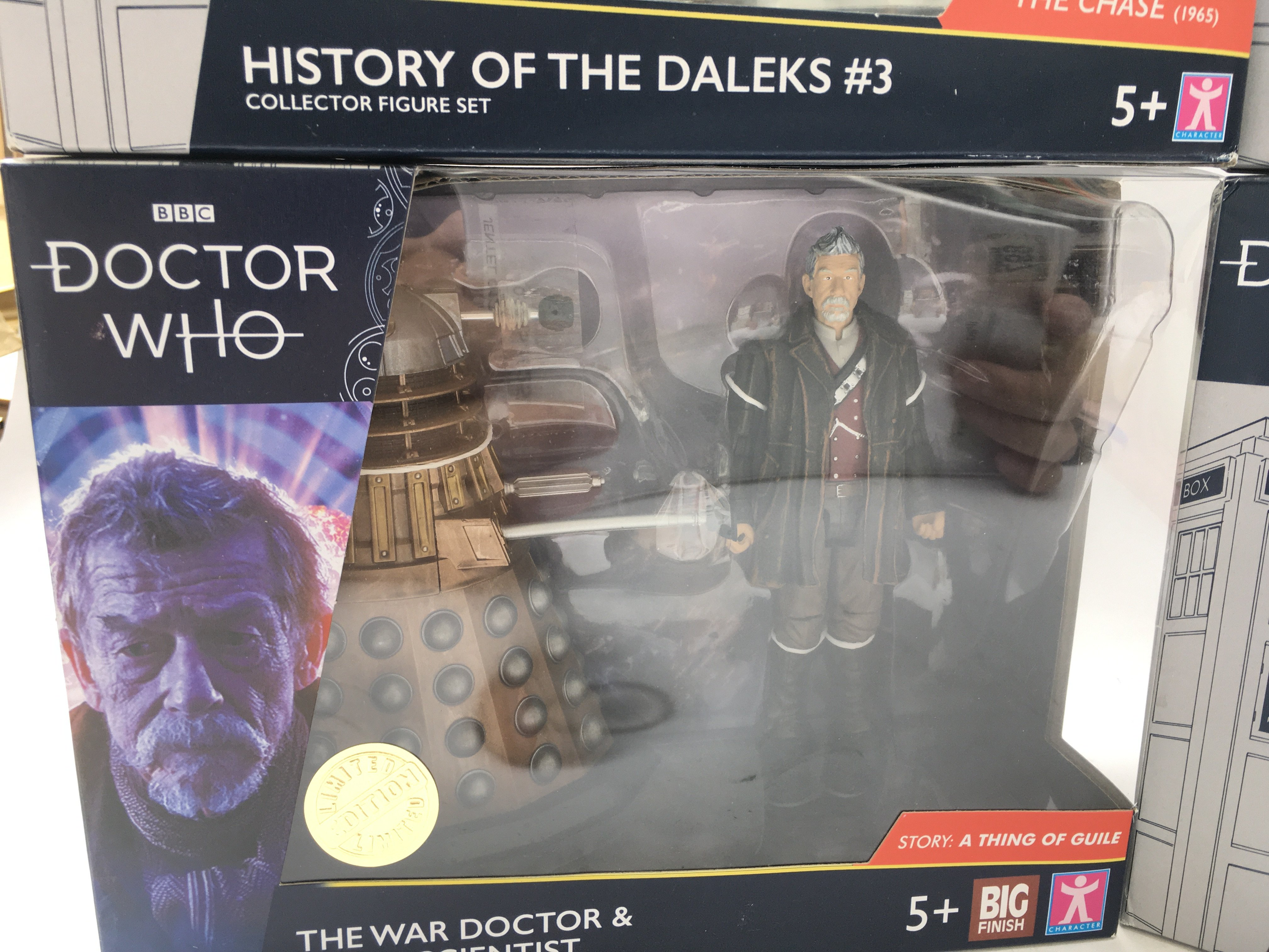 4 X Limited Edition Doctor Who Character Dalek Col - Image 4 of 5