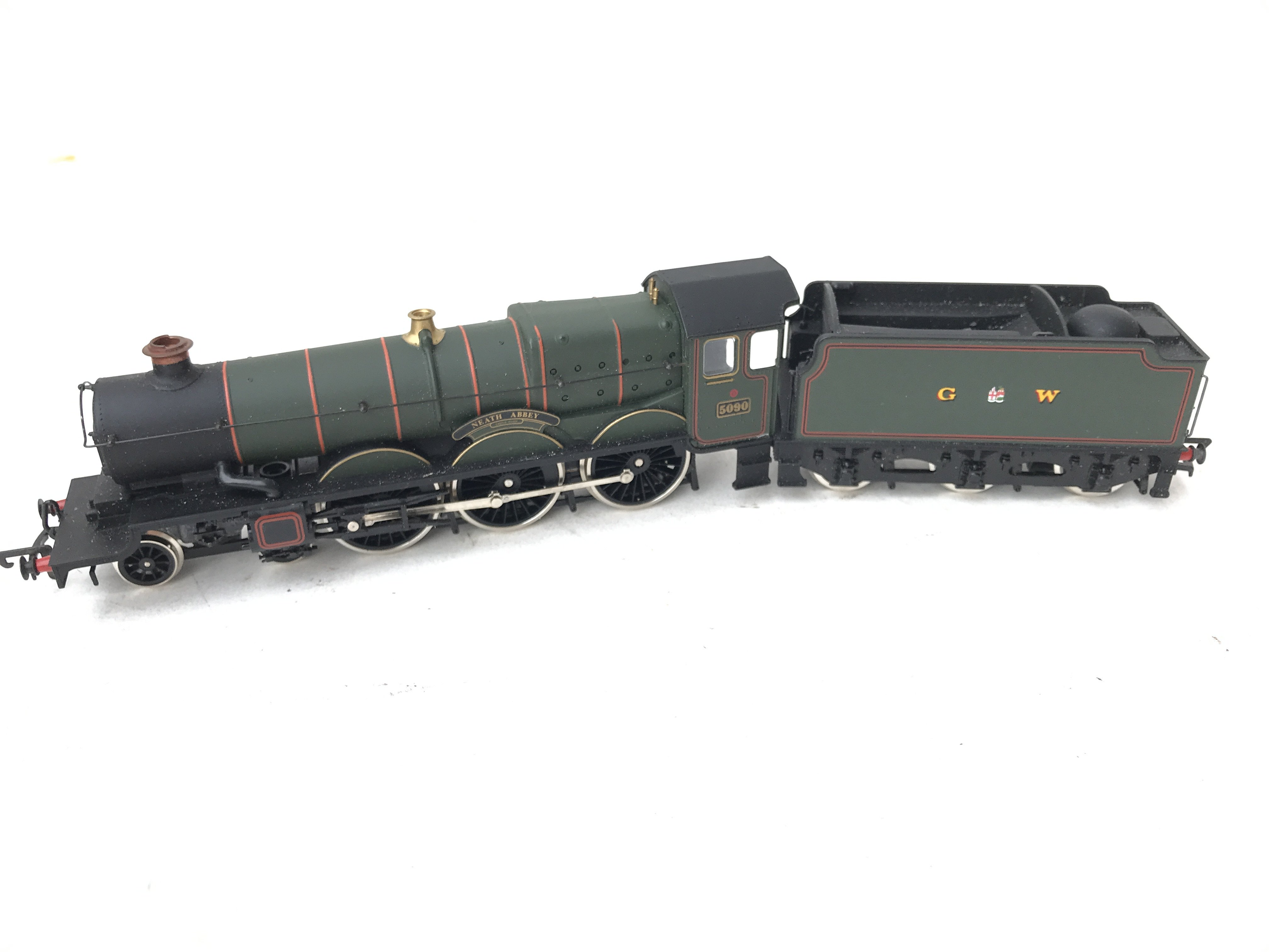 2 X 00 Gauge Locomotives including 0-6-0 Pannier tank. A Dapol GWR Castle Class Neath Abbey and a HO - Image 4 of 4