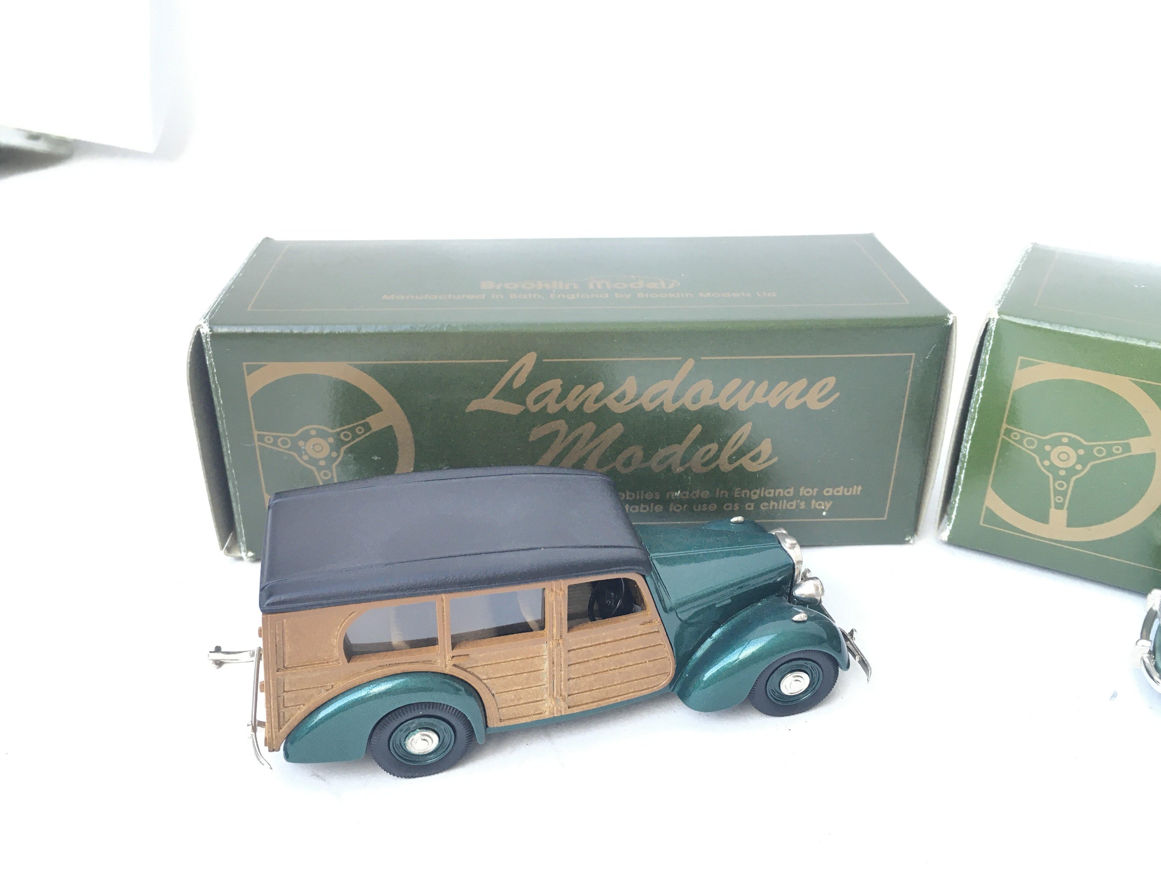 2 X Lansdowne Models including LDM 21 1950 Lea Fra - Image 2 of 3
