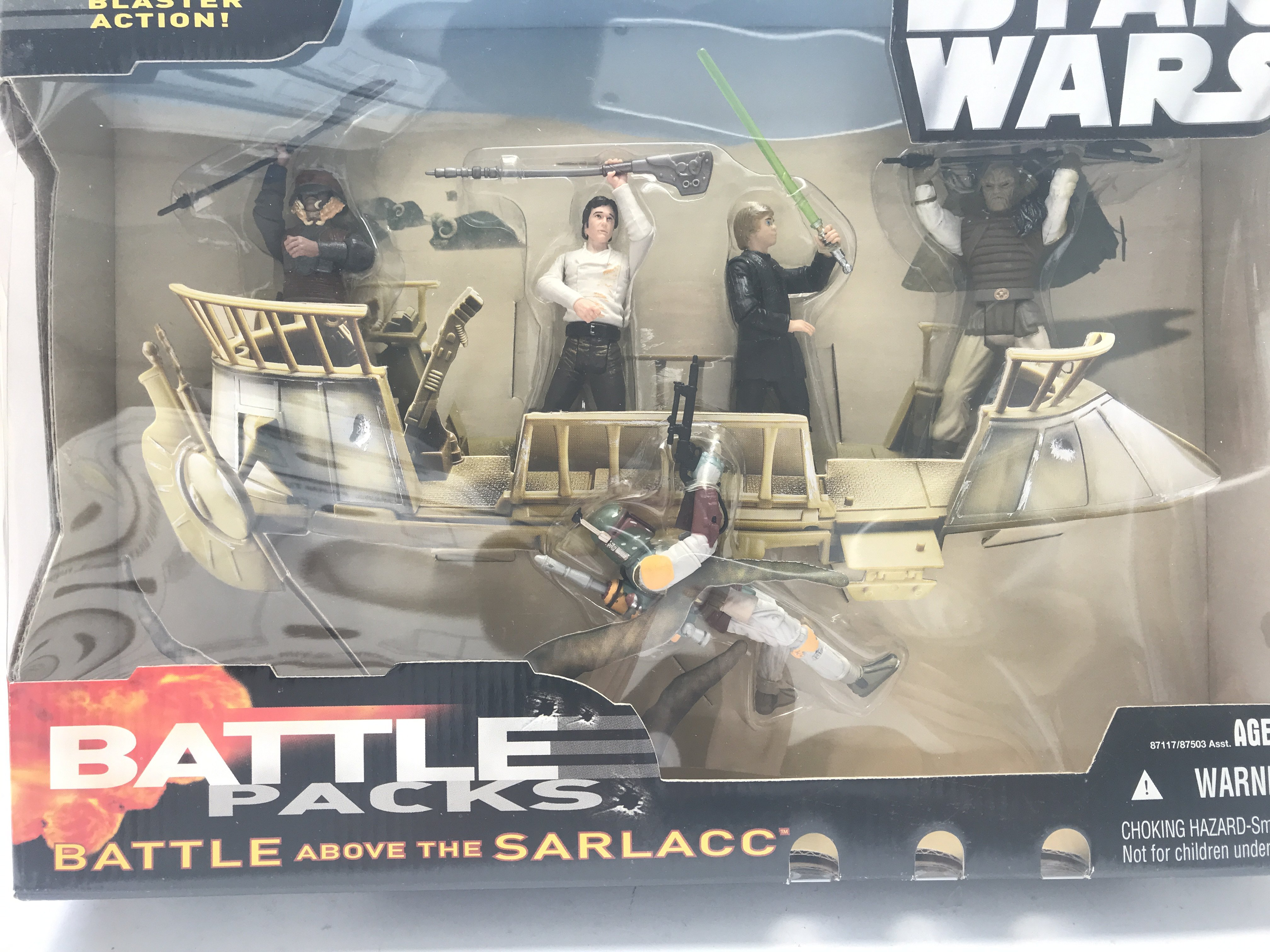 A Star Wars Hasbro Battle Above The Sarlacc pack. - Image 2 of 3