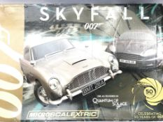 A Boxed James Bond Skyfall Micro Scalextric.