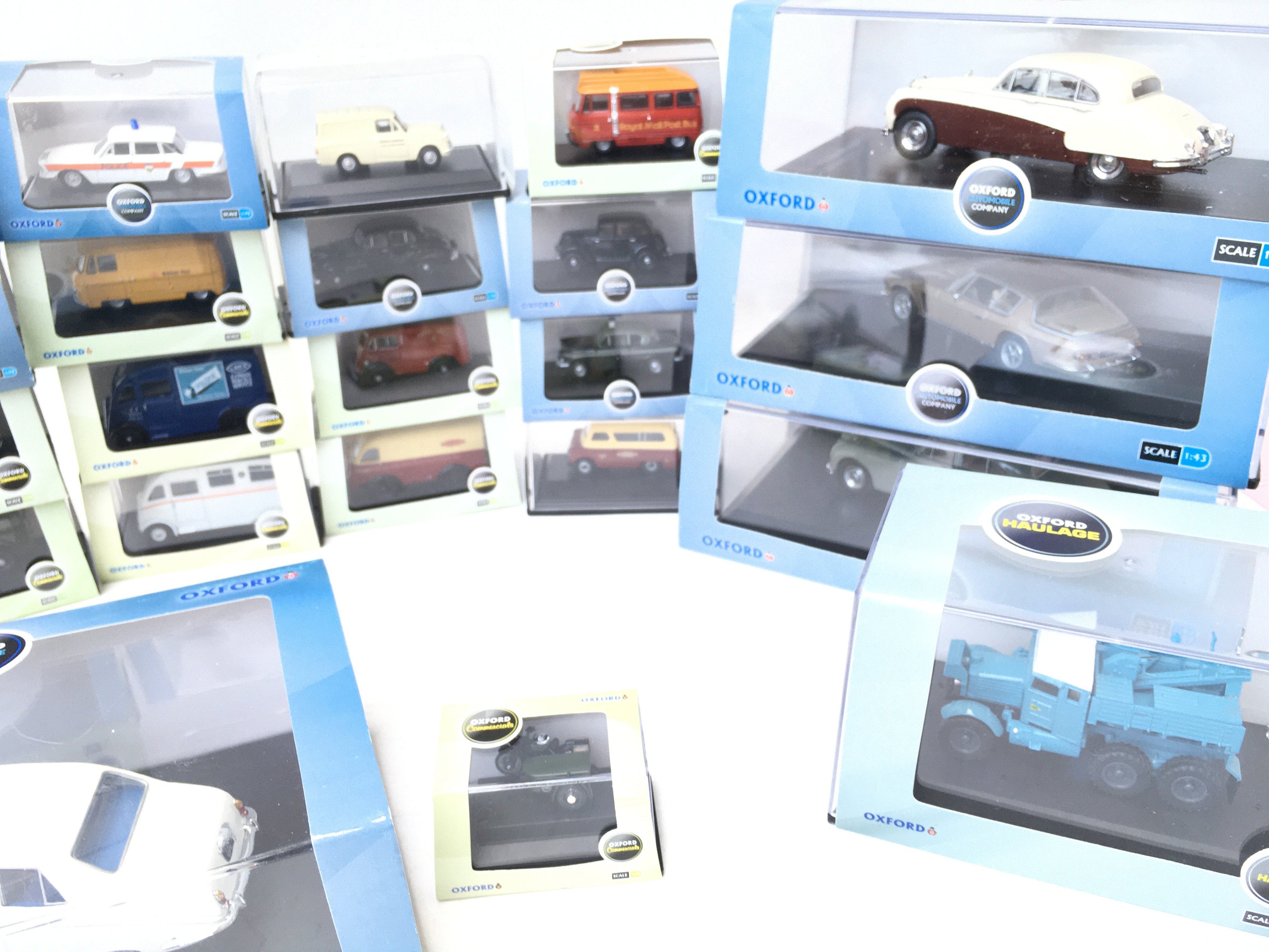 A Collection of Oxford Die-cast all boxed including Fire. haulage. automobile etc. - Image 3 of 4