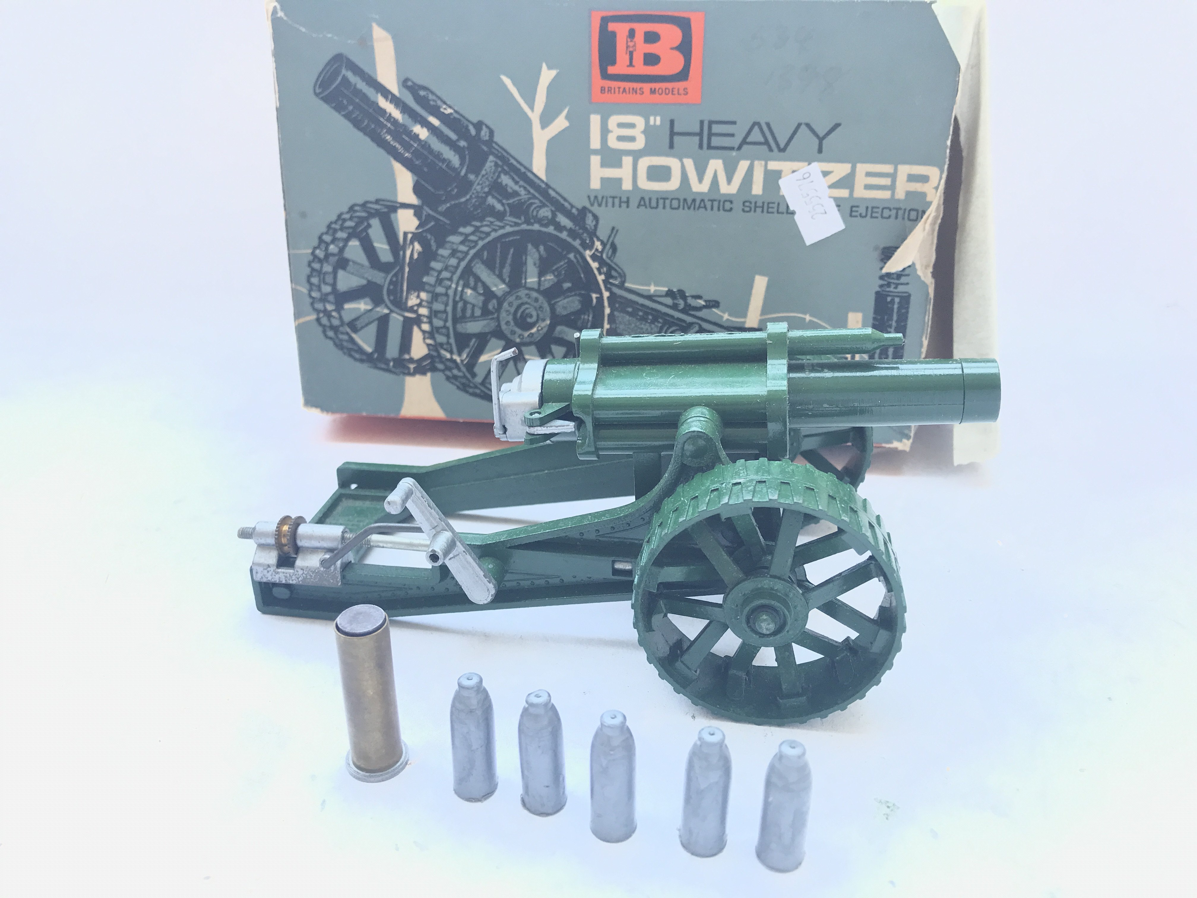 """A Boxed Britain's 18"""" Heavy Howitzer complete with"""