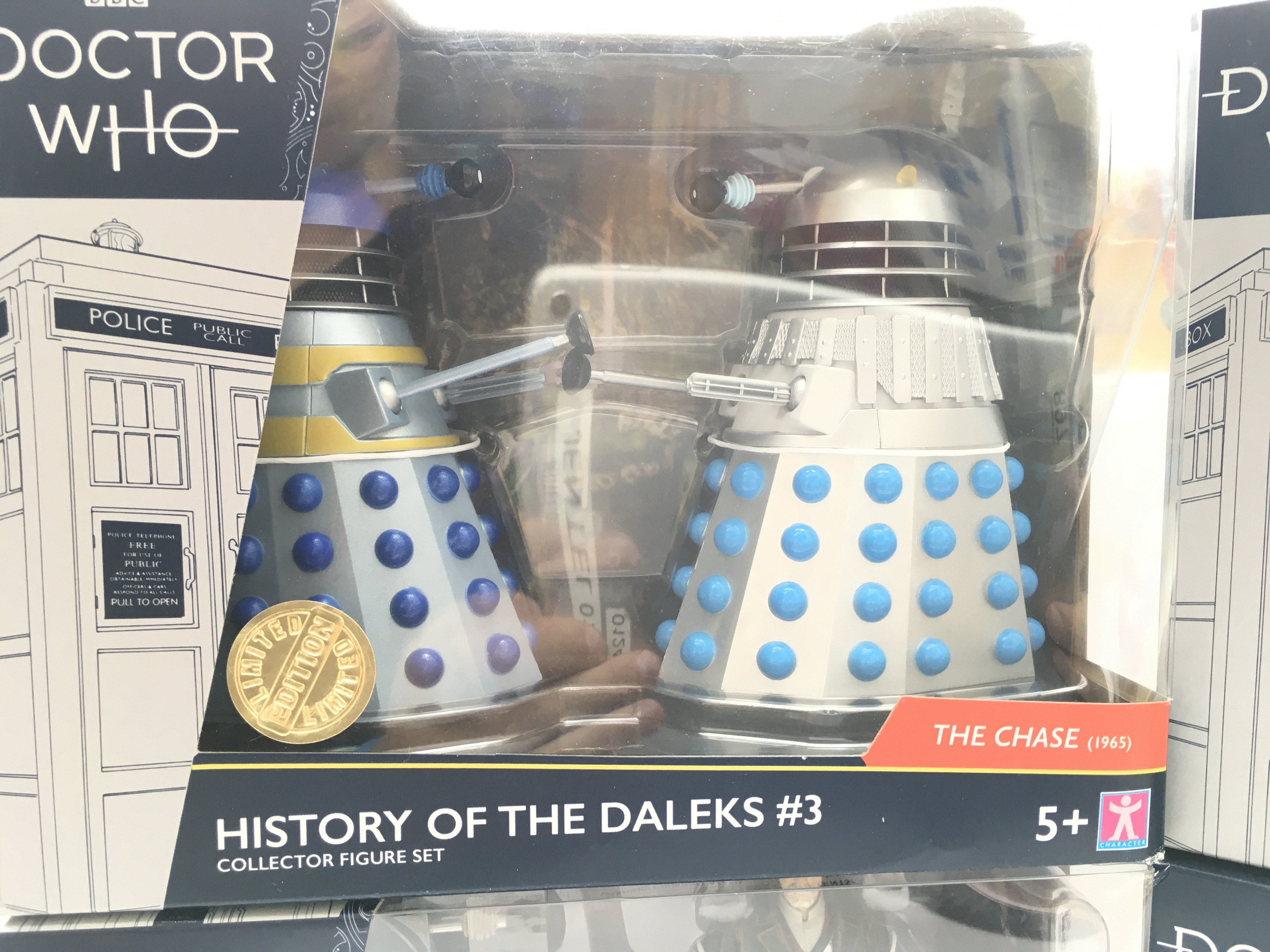 4 X Limited Edition Doctor Who Character Dalek Col - Image 5 of 5