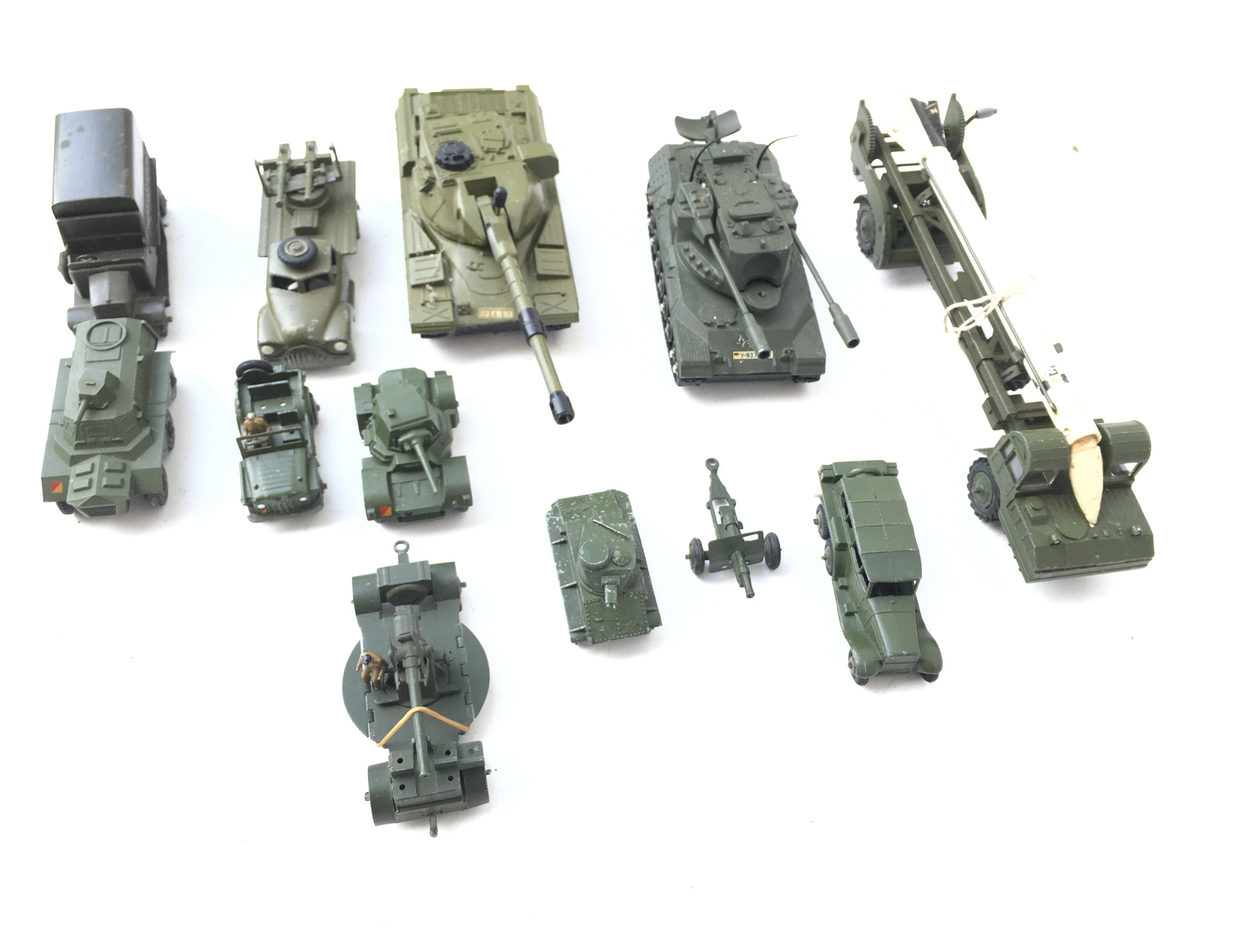 A Collection of Military Die Cast Vehicles includi - Image 2 of 4
