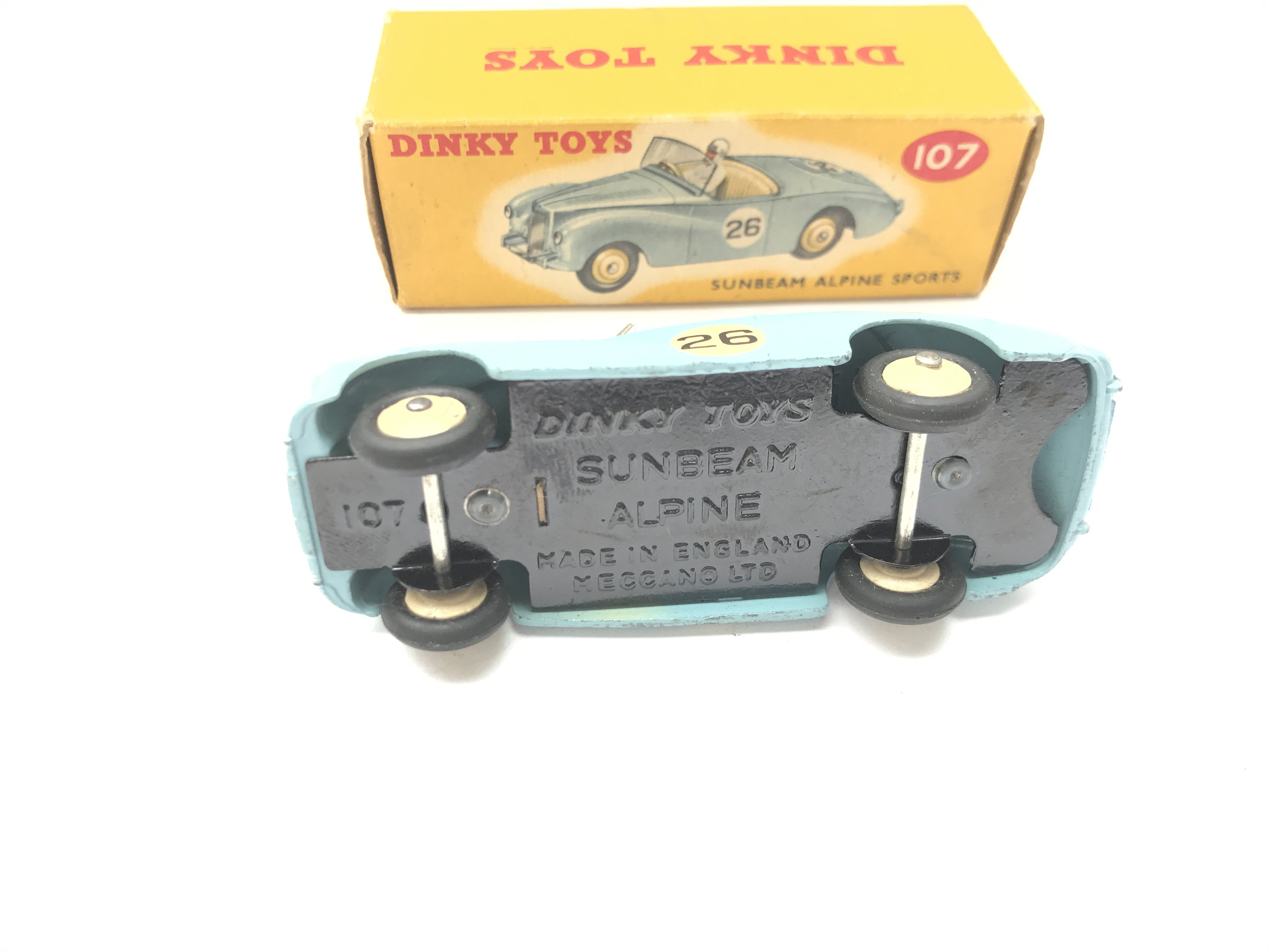A Boxed Dinky Sunbeam Alpine Sports #107 - Image 3 of 3
