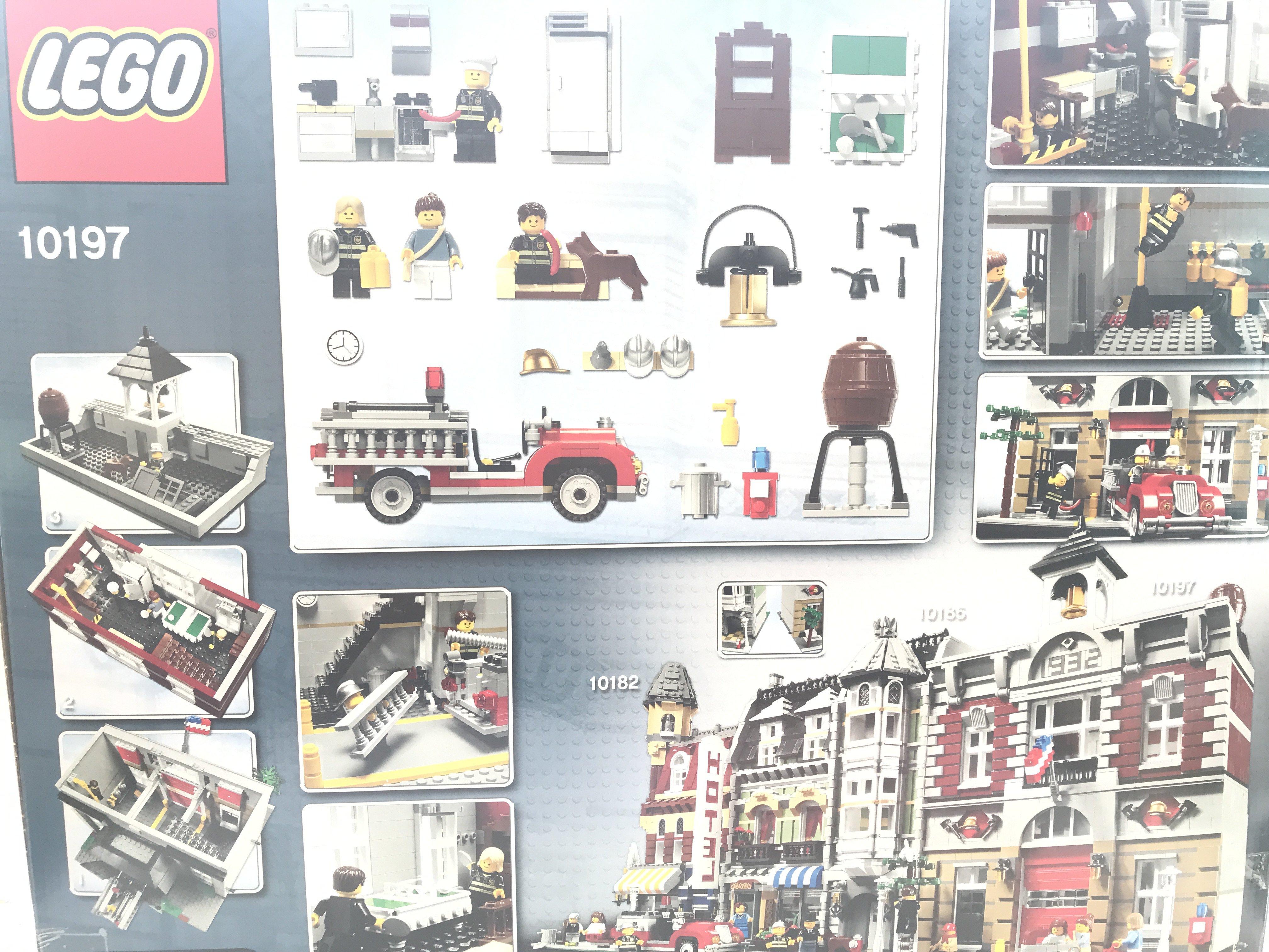 A Boxed Lego Fire Brigade 2231 pcs #10197. - Image 2 of 2
