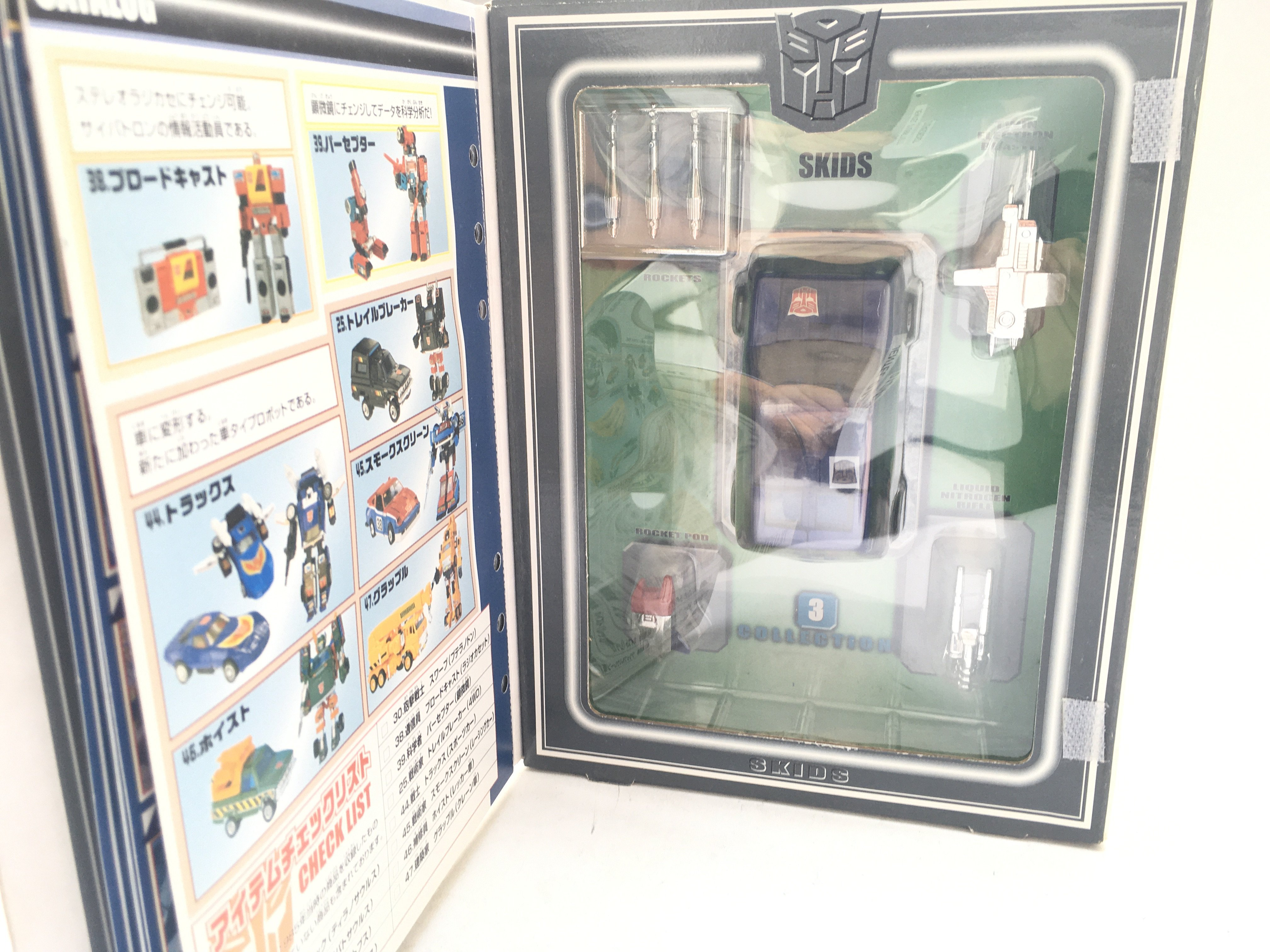 A Boxed Takara Transformers #3 Skids. - Image 2 of 2