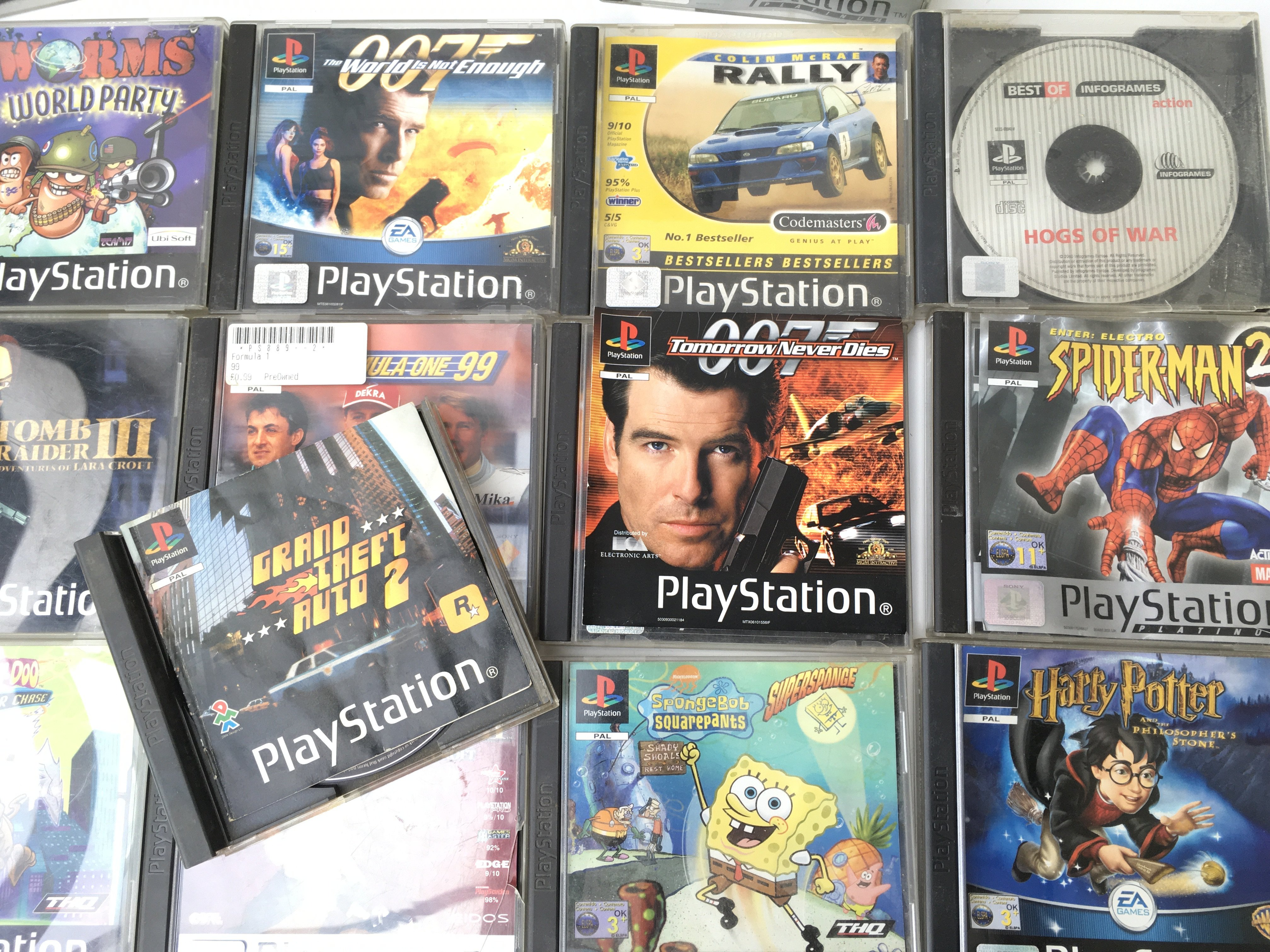 A Boxed PlayStation 1 with Games. - Image 3 of 4