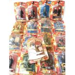 A Collection of Carded Doctor Who Figures includin
