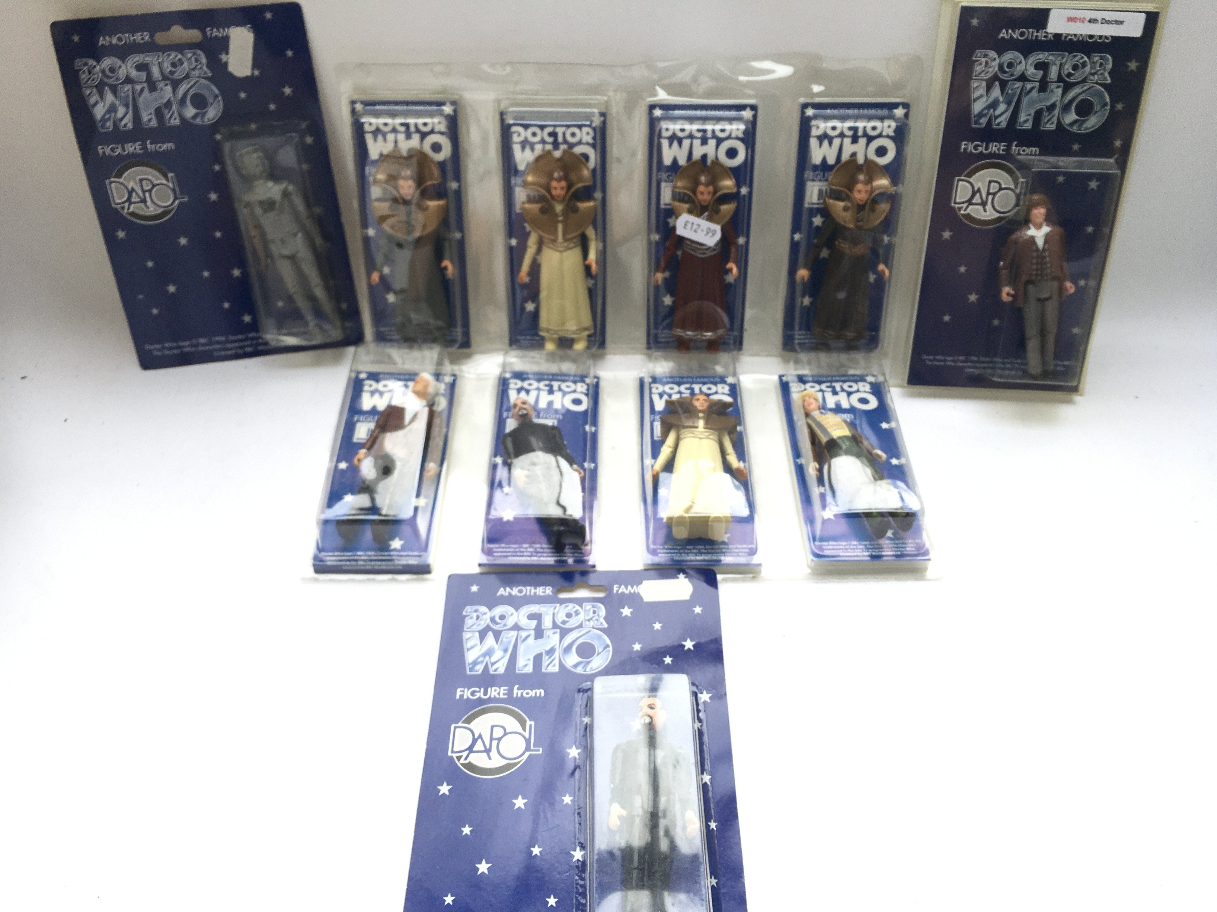 A Collection of Dapol Doctor Who Figures. All Boxe