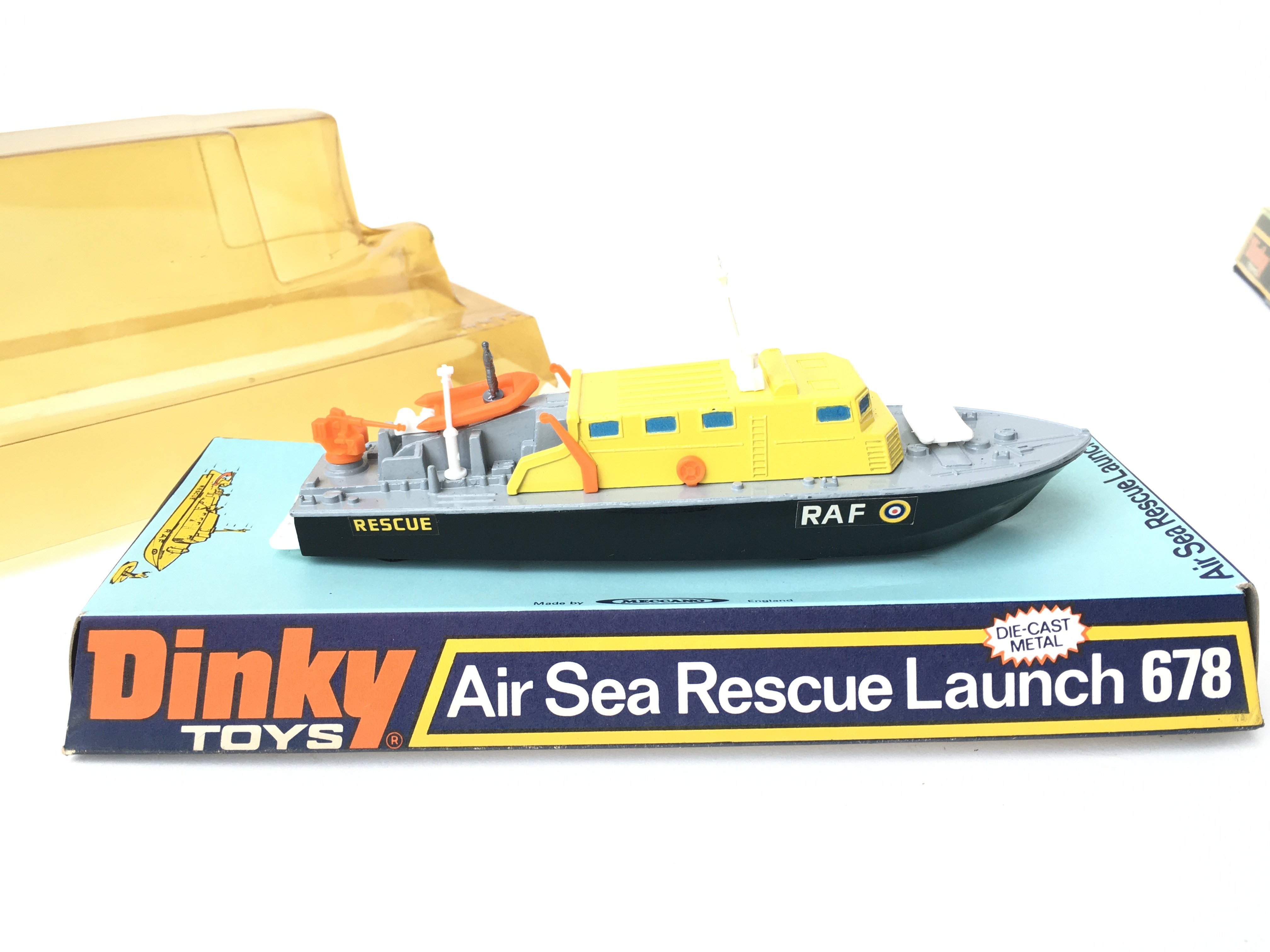 2 X Boxed Dinky Air Sea Rescue Launch #678 and a U - Image 2 of 3