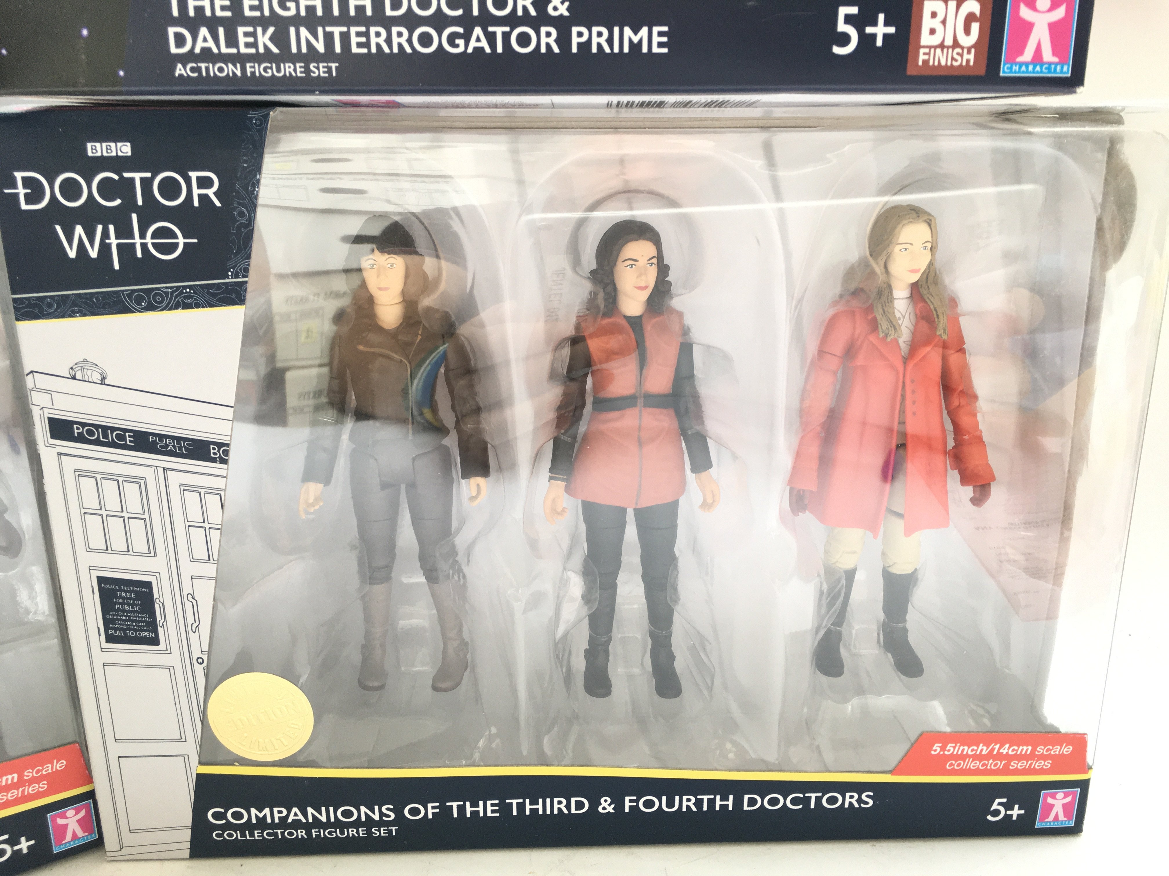 4 x Limited Editions Doctor Who Figure sets. Inclu - Image 3 of 5
