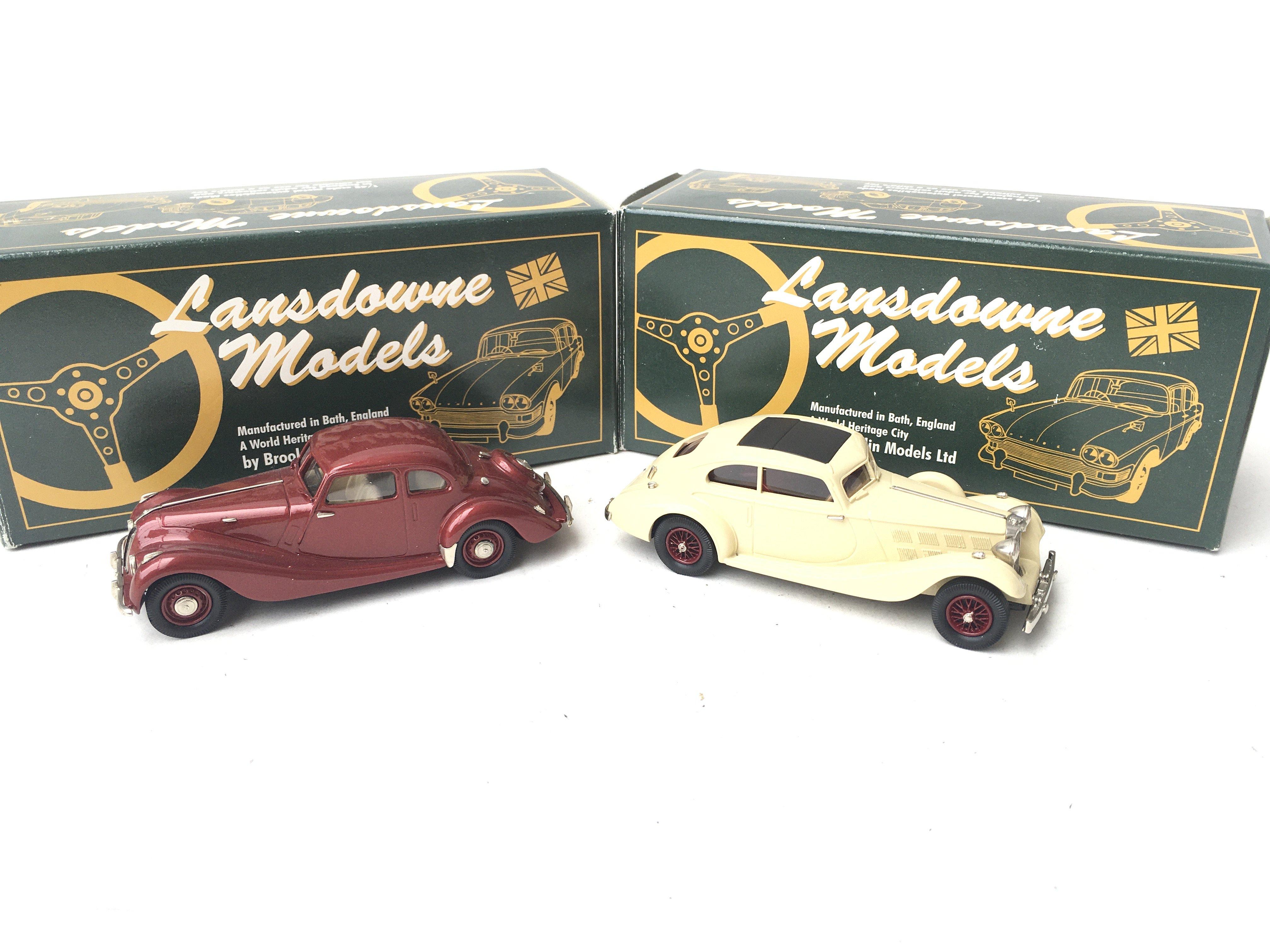 2 X Lansdowne Models. LDM 31 1947 Bristol 400 And