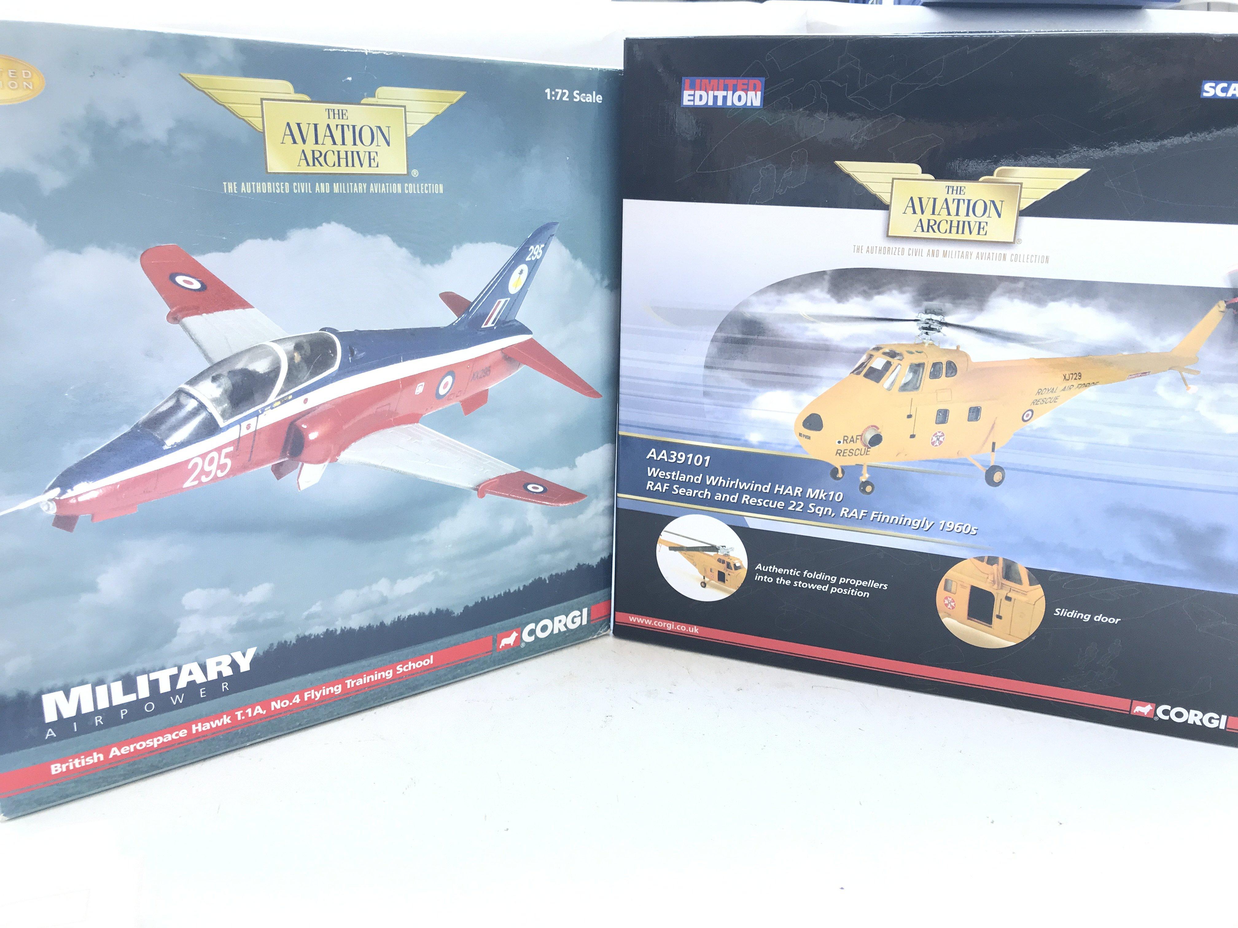 A Boxed Corgi British Areospace Hawk #AA36002 and