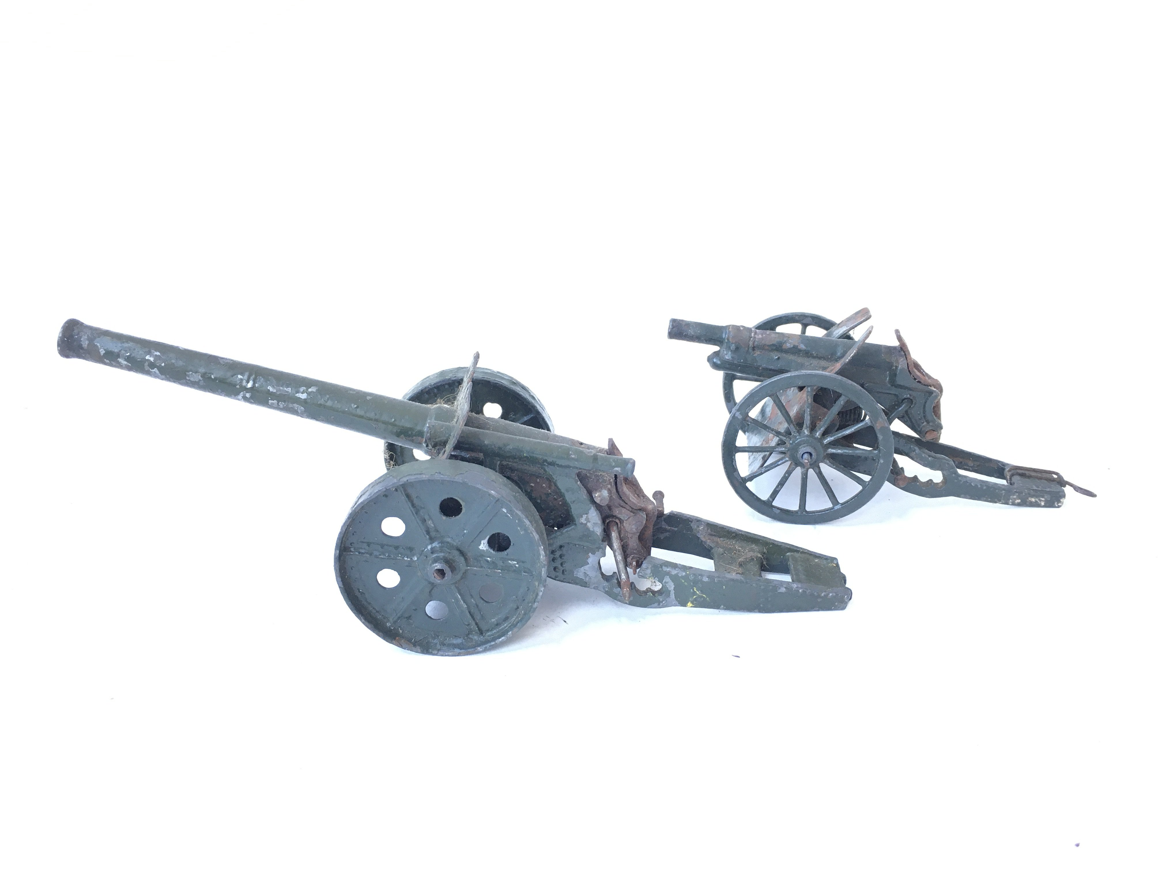 A Britain's Cannon and one other (Unmarked)