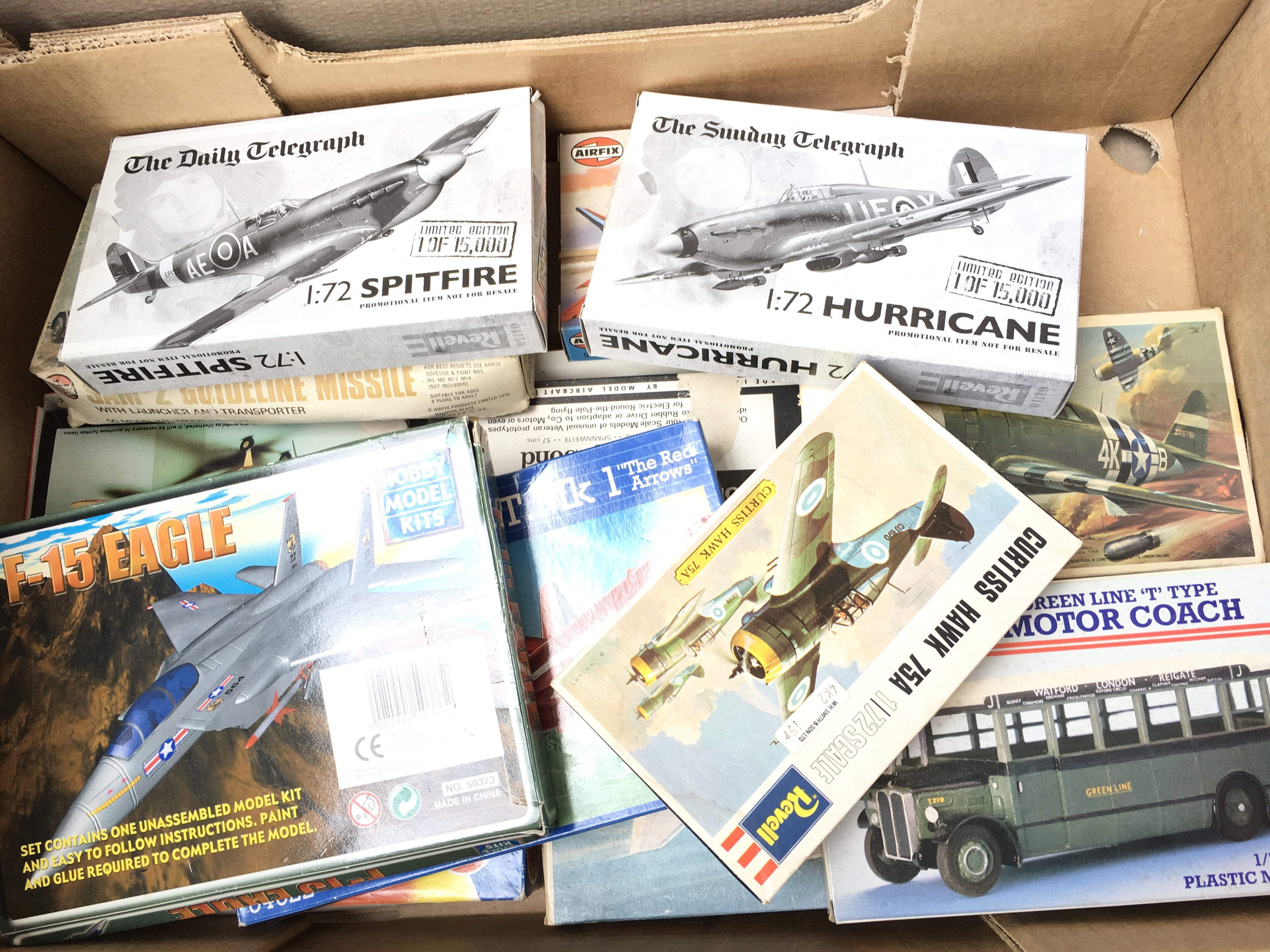 A large collection of Airfix. Revell Etc. Model ki - Image 3 of 3