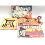 Collection of five vintage games.