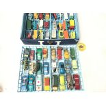 A Matchbox Collectors Case with Die-Cast Cars incl
