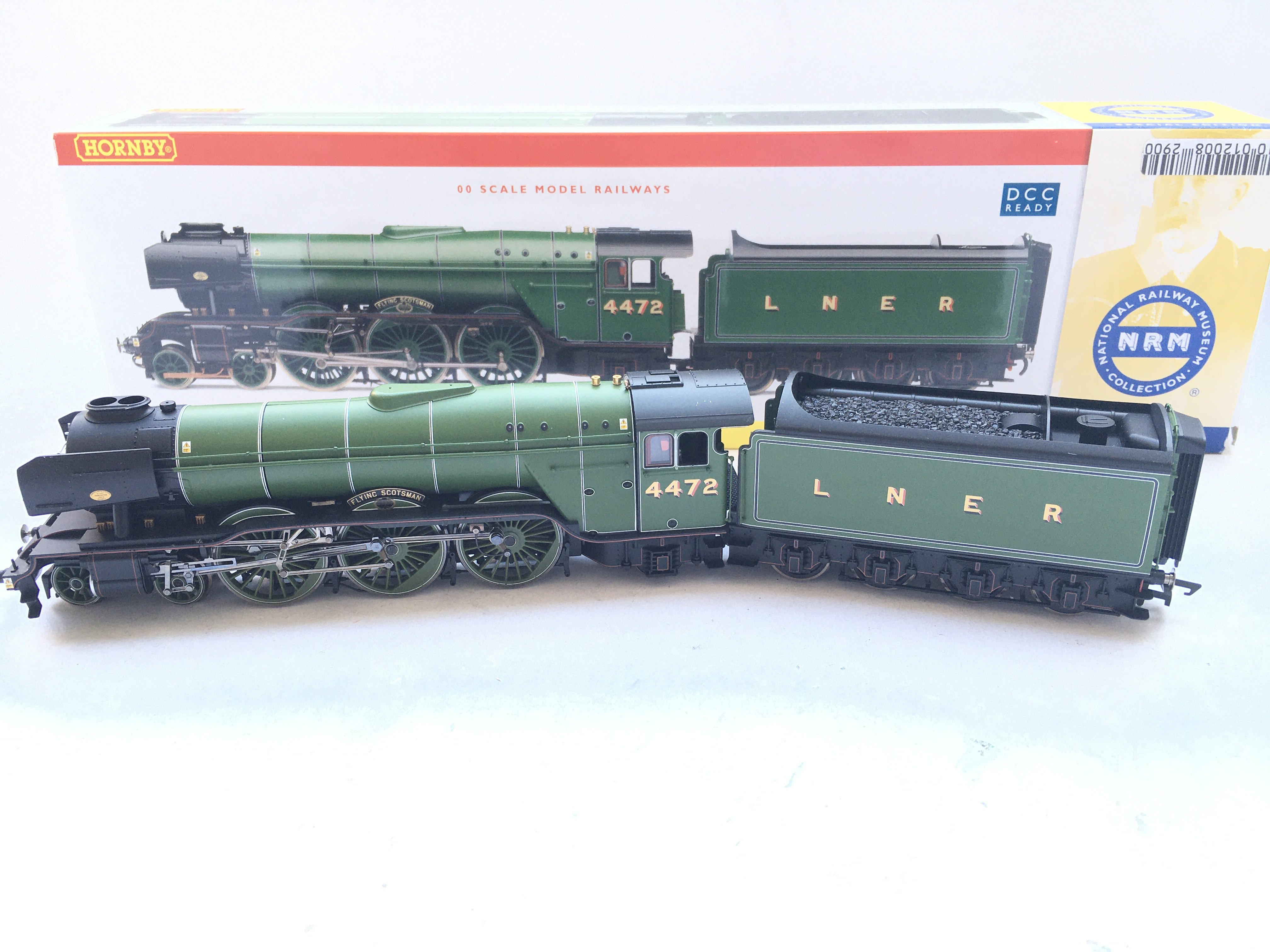 A Boxed Hornby Flying Scotsman #R2441. DCC Ready.