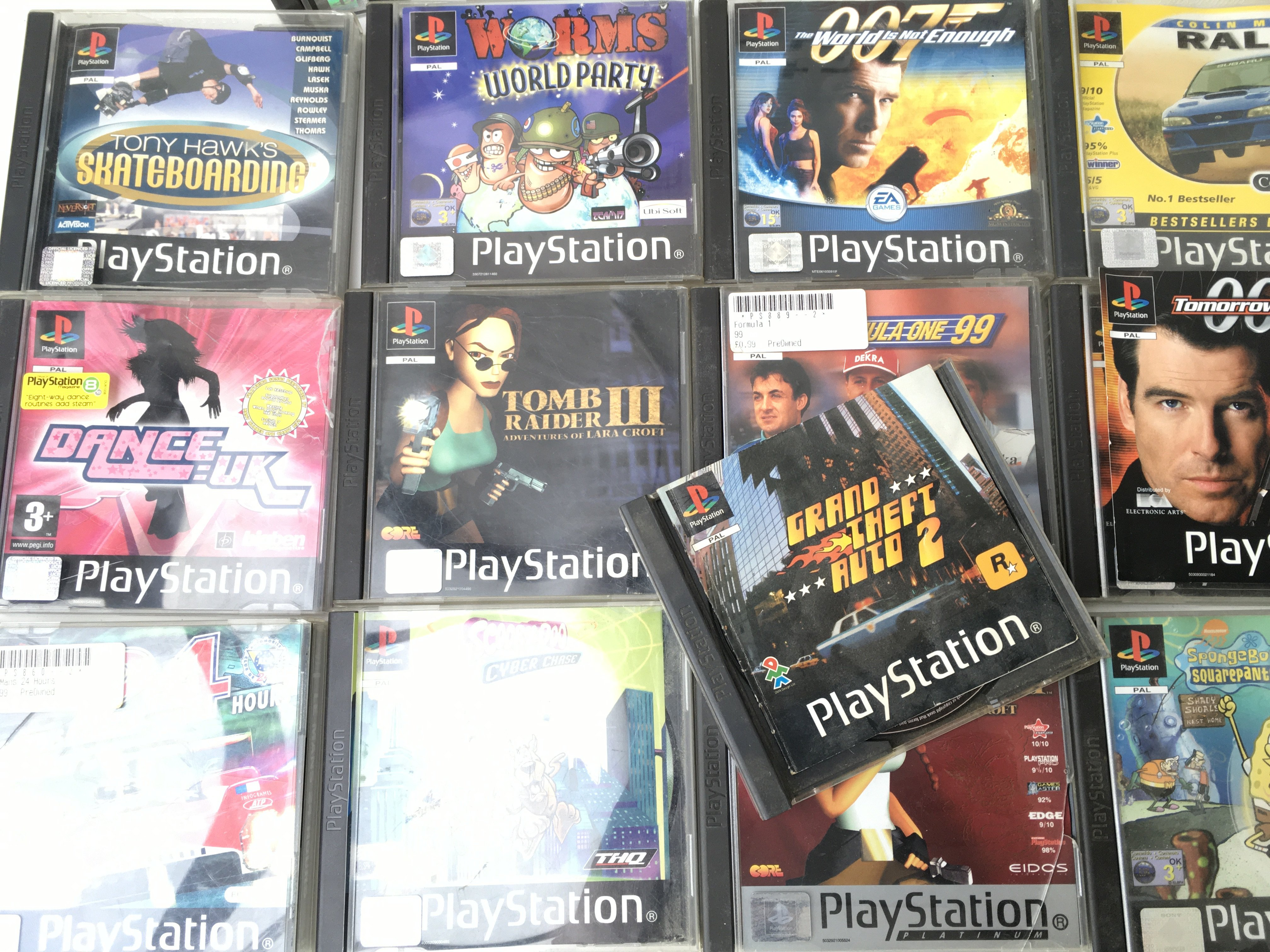 A Boxed PlayStation 1 with Games. - Image 2 of 4