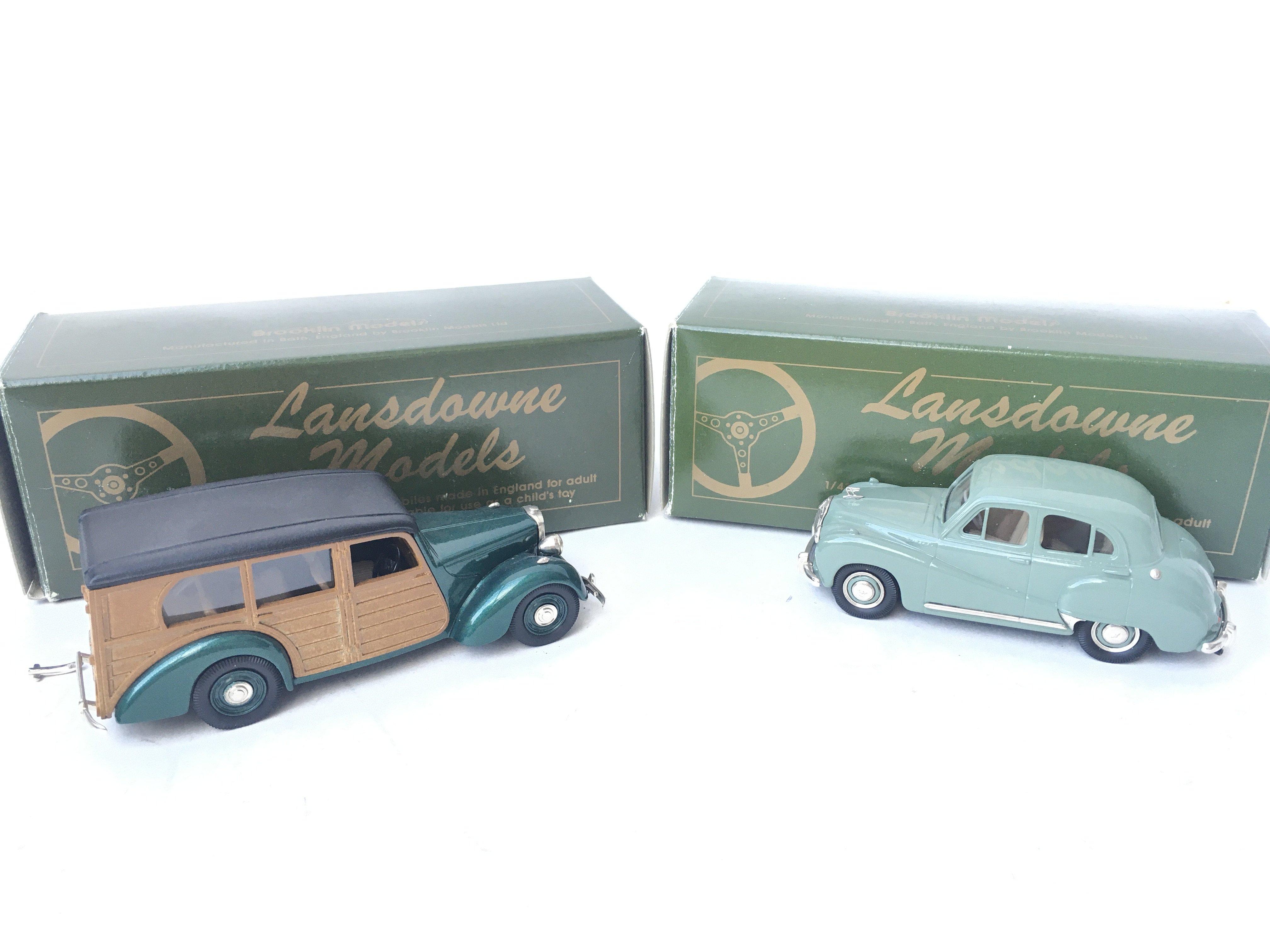 2 X Lansdowne Models including LDM 21 1950 Lea Fra