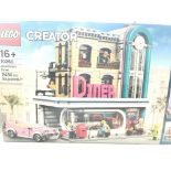 A Boxed Lego Downtown Diner 2480 Pcs #10260