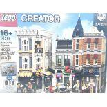 A Boxed Lego Assembly Square 4002 pcs. #10255. Com