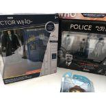 5 X Doctor Who Figure sets including Companion Set
