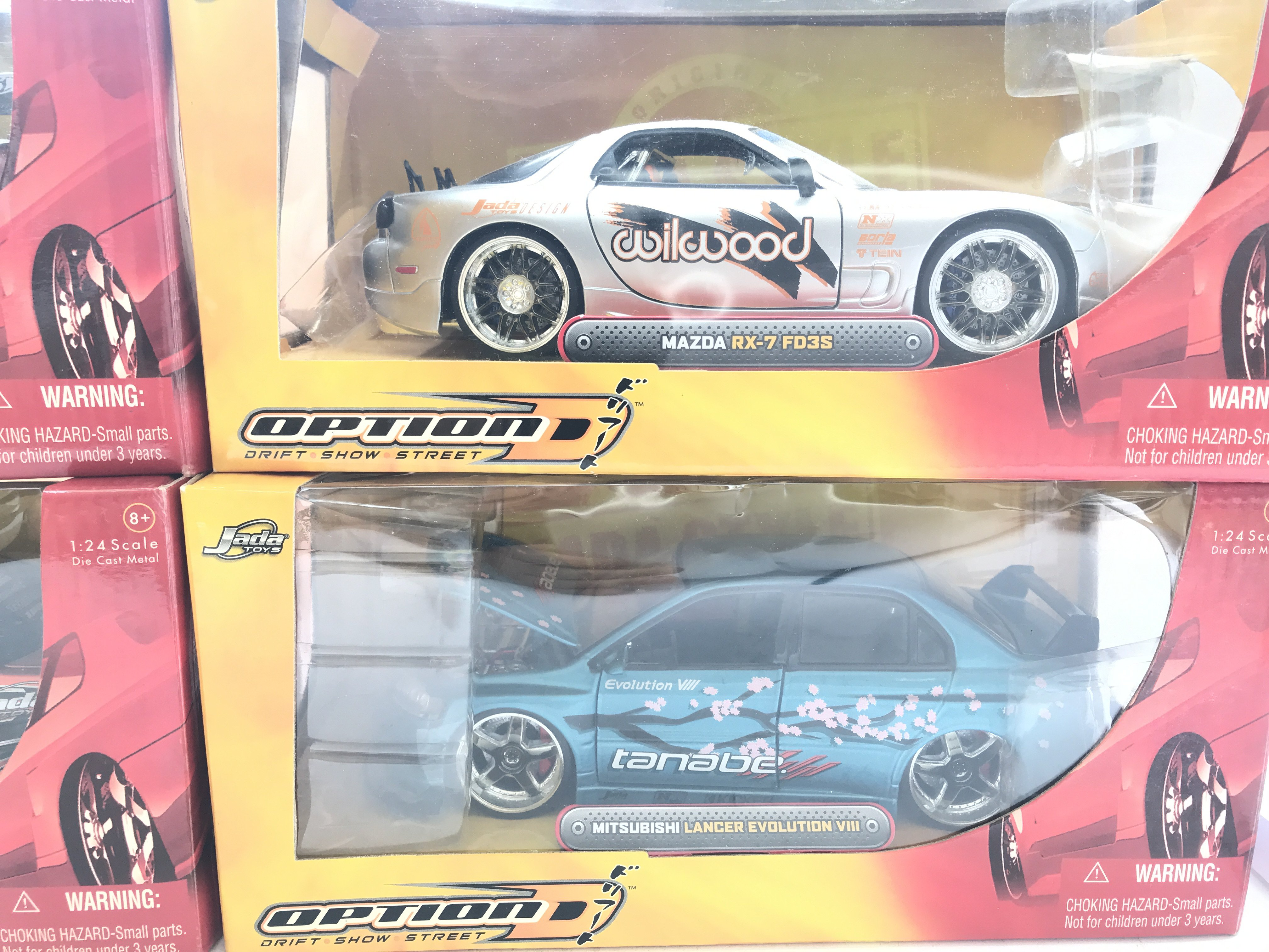 4 X Jada Toys Boxed Cars Scale 1:24 including Scio - Image 3 of 3