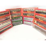 A Collection of Boxed 00 Gauge Coaches. Hornby.Llima.Dapol and Replica Railways.