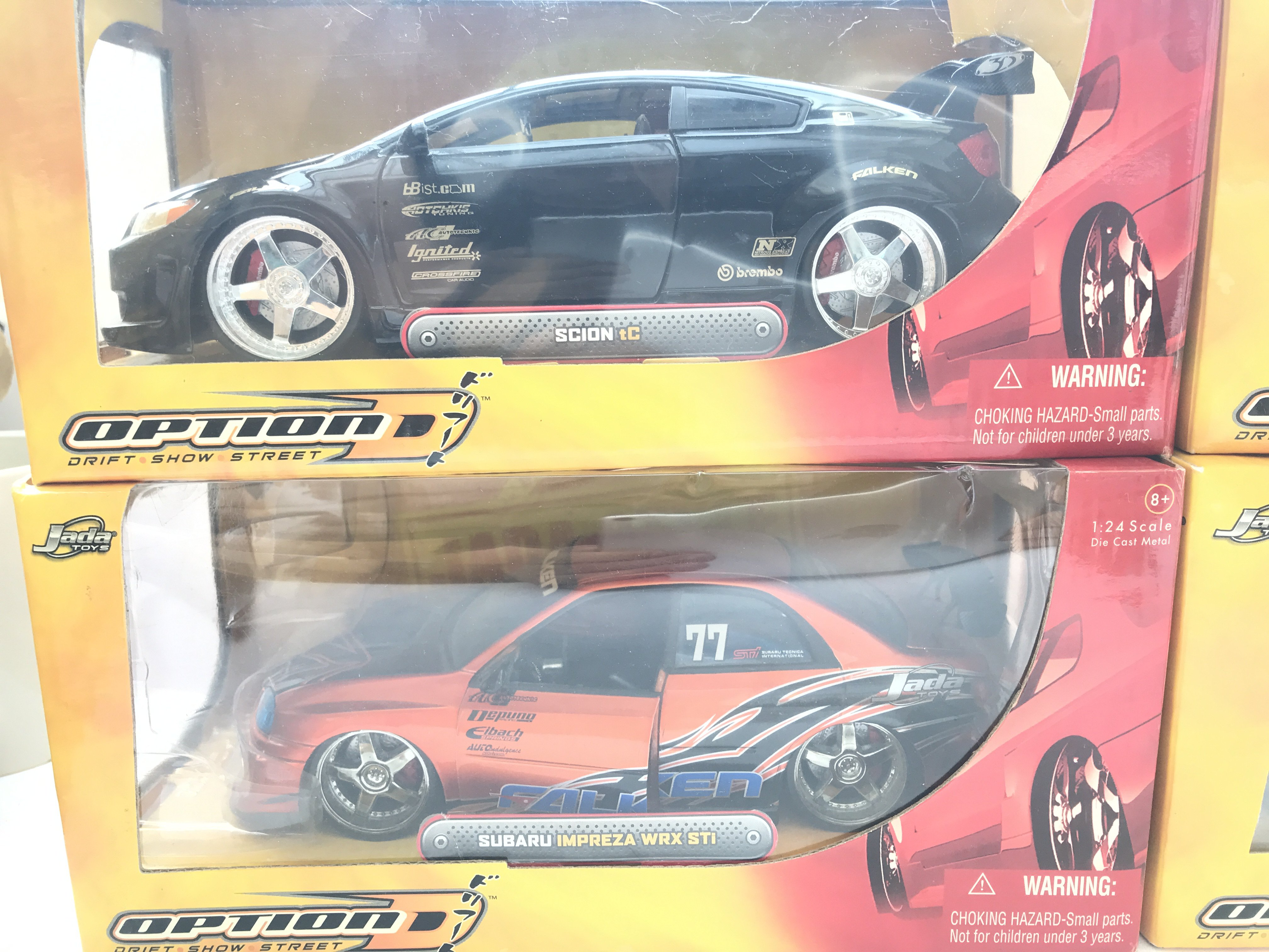 4 X Jada Toys Boxed Cars Scale 1:24 including Scio - Image 2 of 3