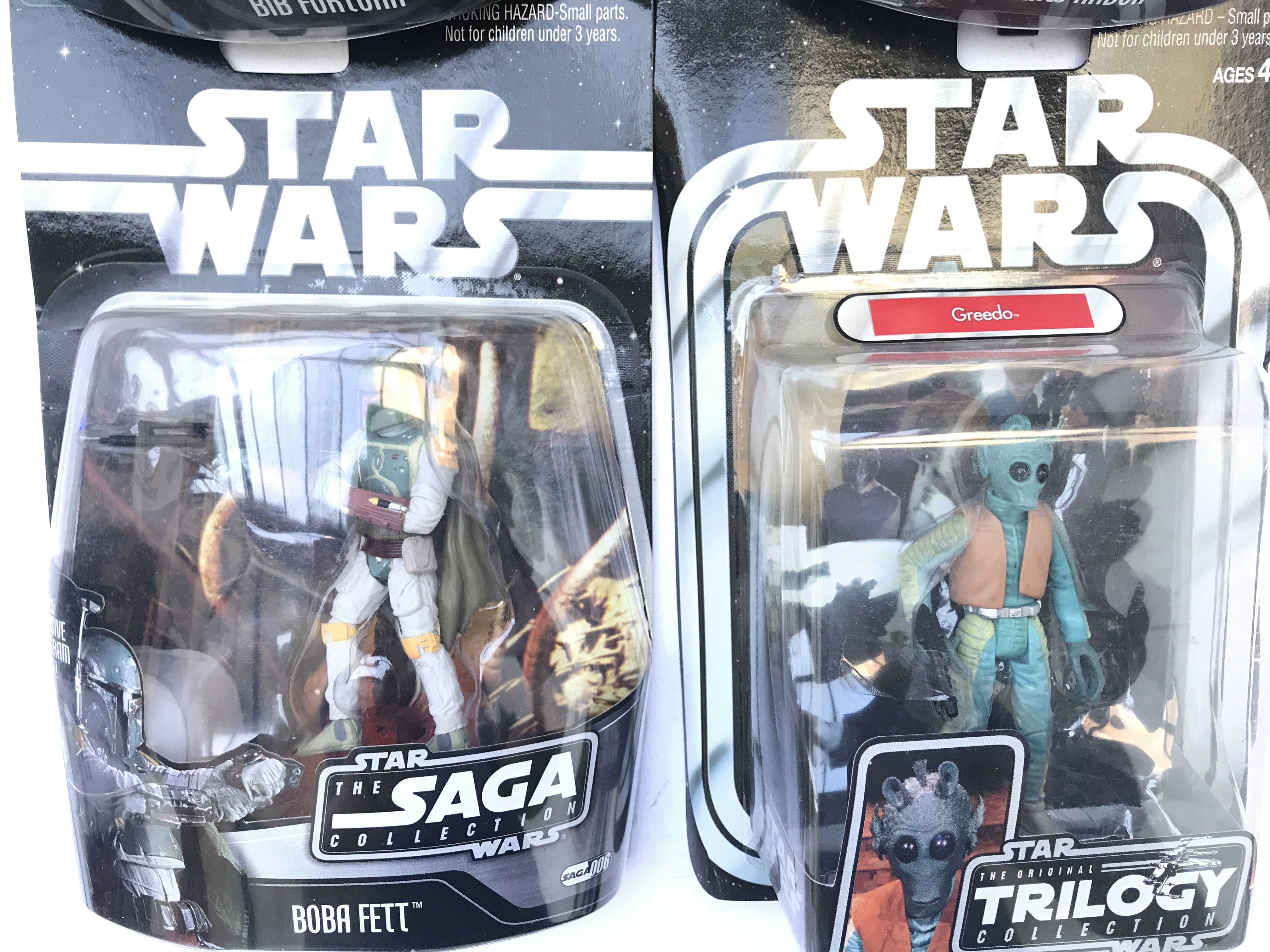 4 X Star Wars Carded Figures 3 from the Saga Colle - Image 3 of 3