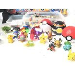 A Collection of Pokemon Figures. A Spy Gear set. A Science Station. 2 X Hex Bugs. Etc.