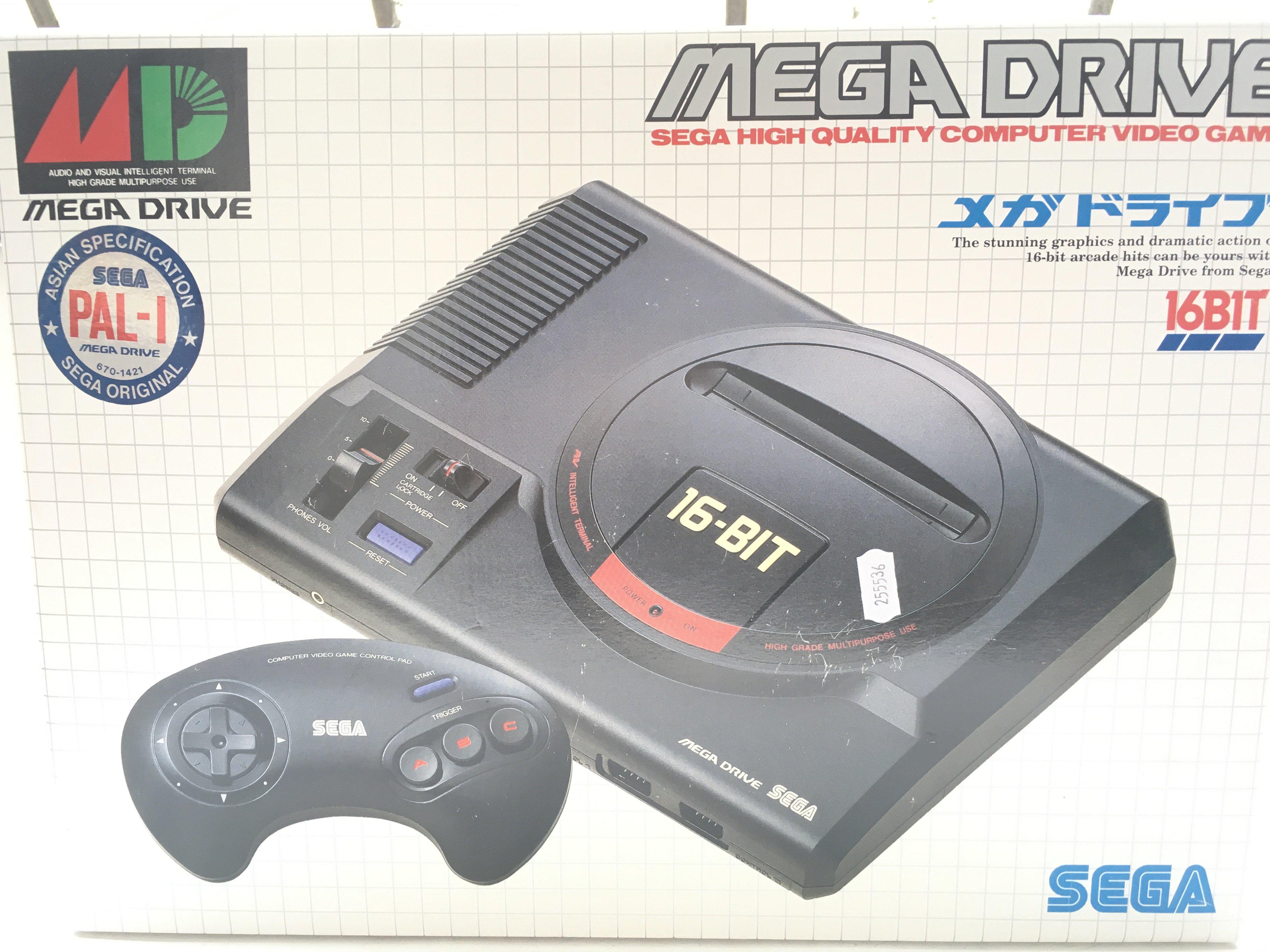 An Asian Pal-import Boxed Sega Drive 16bit. 6 Game
