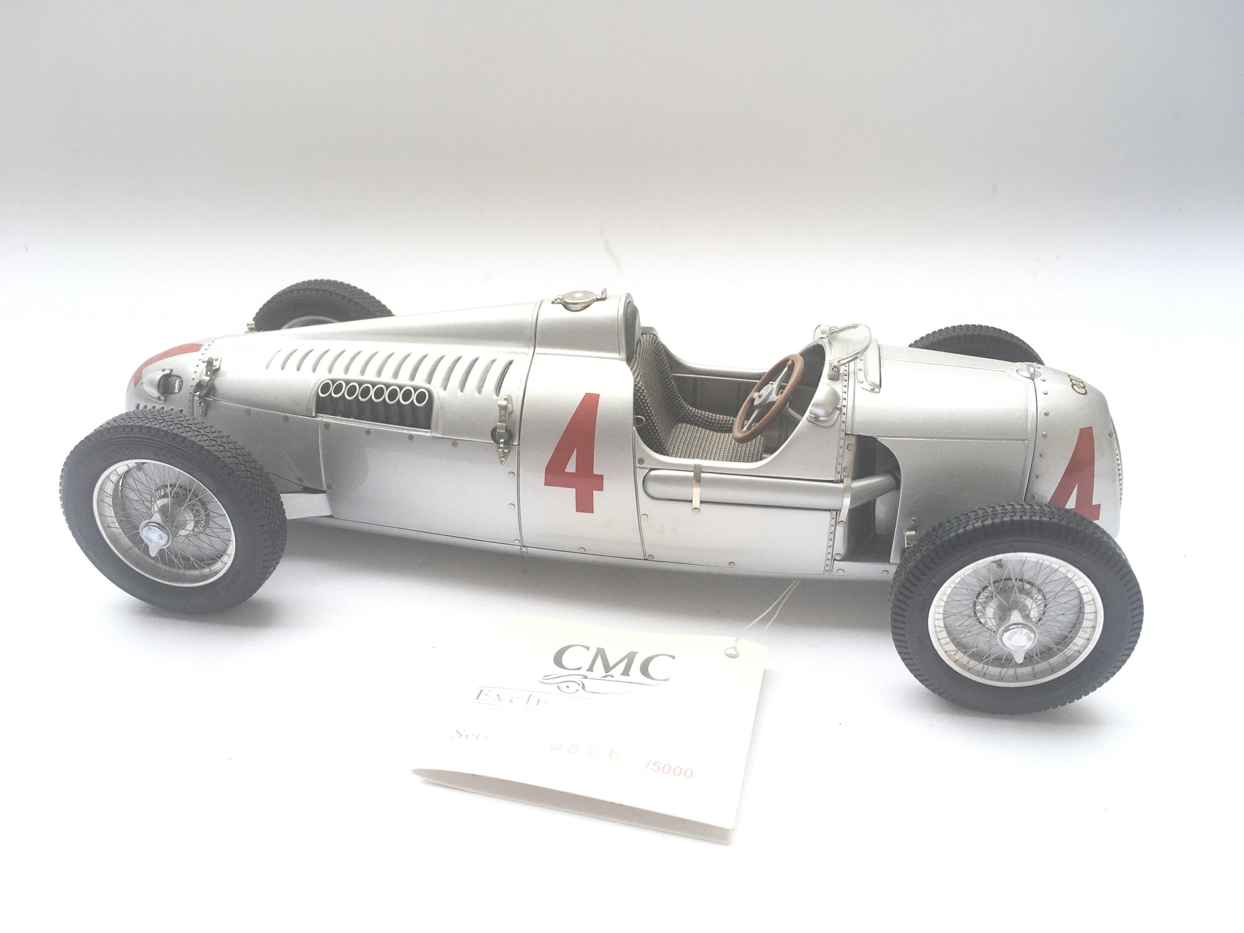 A CMC Exclusive Models Auto Union Type C Sieger GP - Image 2 of 3