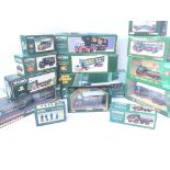 A Collection of Corgi Eddie Stobart Vehicle's and Figures. All boxed.