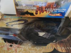 A Batman Begins Scalextric Set (Sealed) and a Hotw