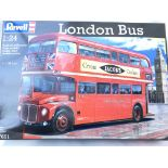 A Boxed Revell London Bus Scale 1:24. Appears to be complete.