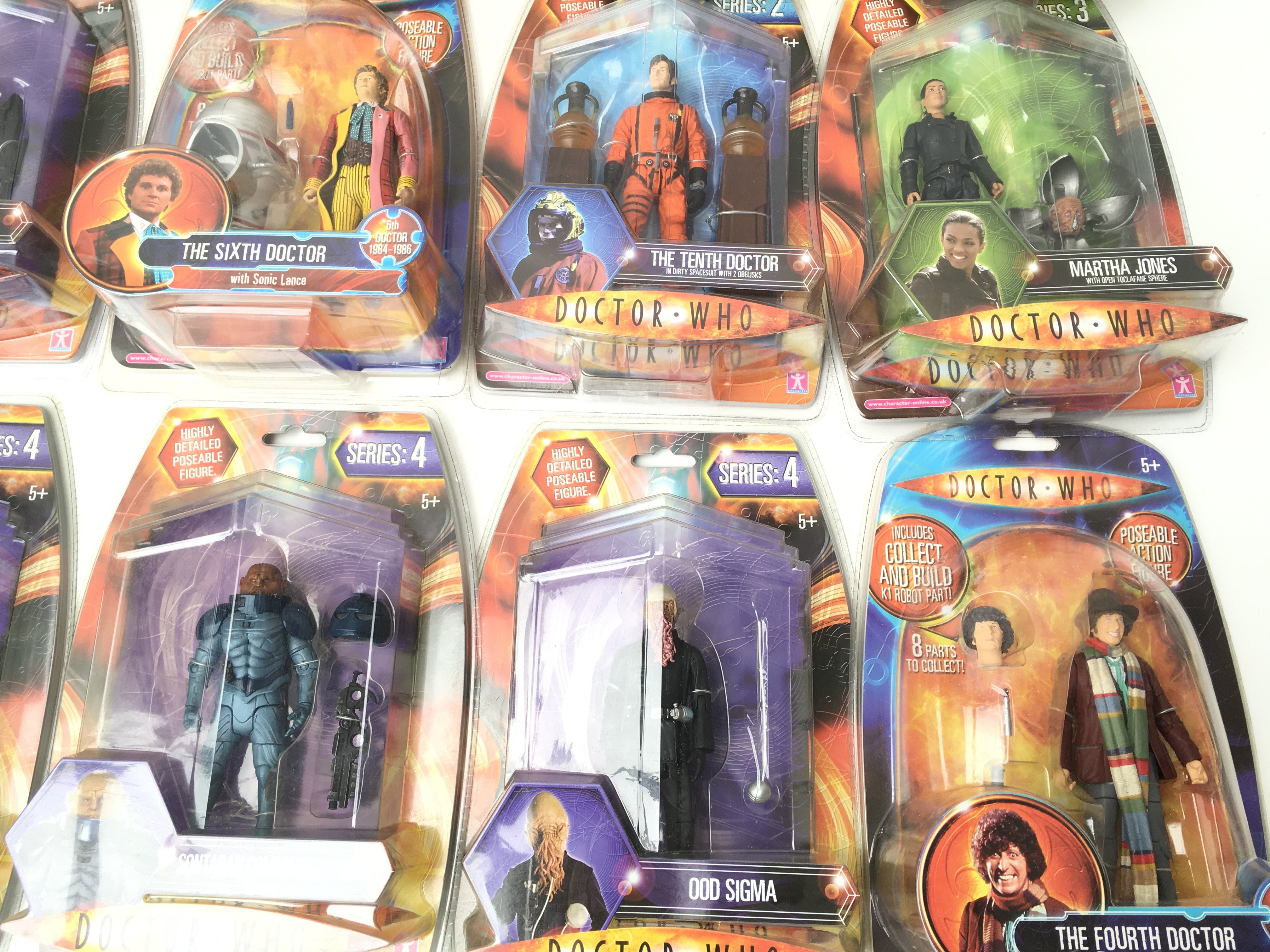 A Collection of Carded Doctor Who Figures.includin - Image 2 of 4