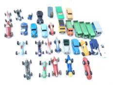 A Collection of Dinky. Corgi. Marx Vehicles includ