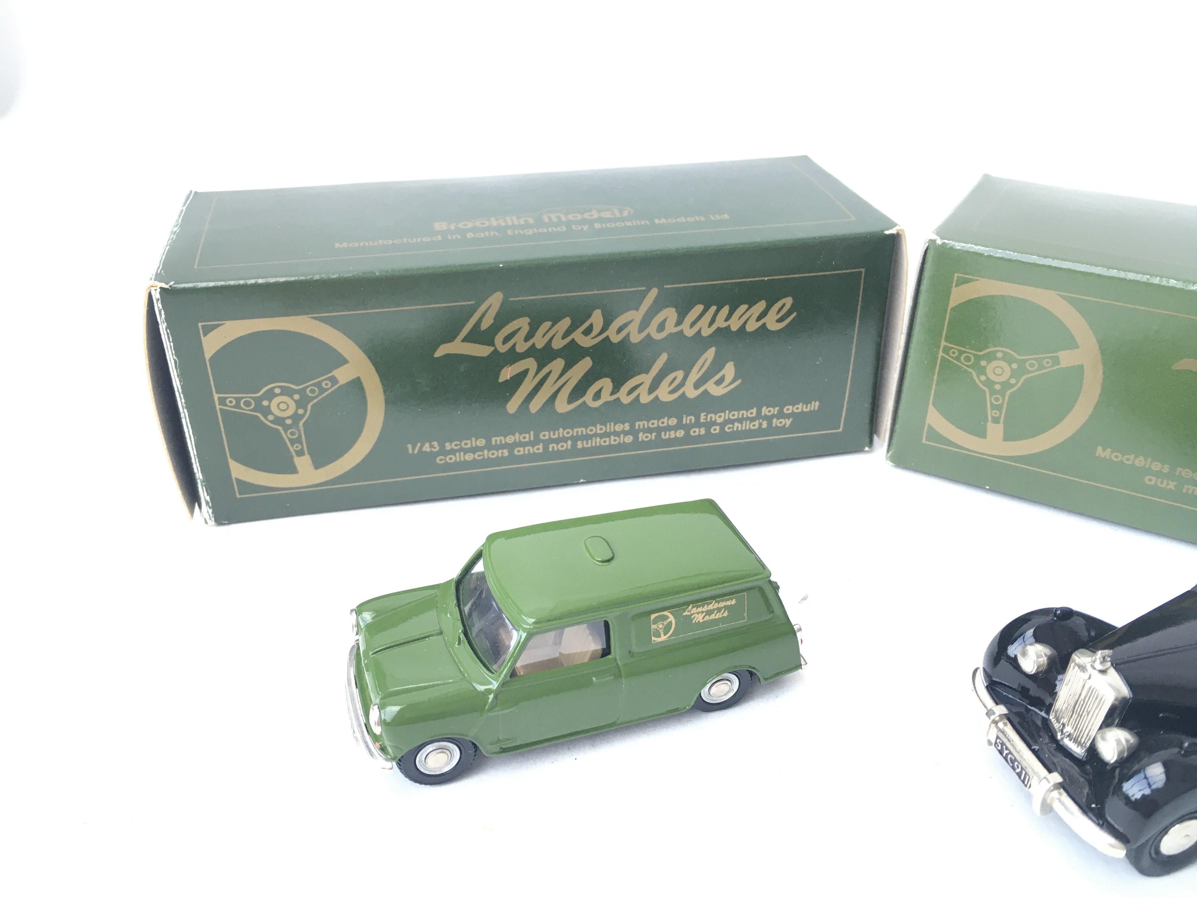 2 X Lansdowne Models including LD4 1962 Morris Min - Image 2 of 3