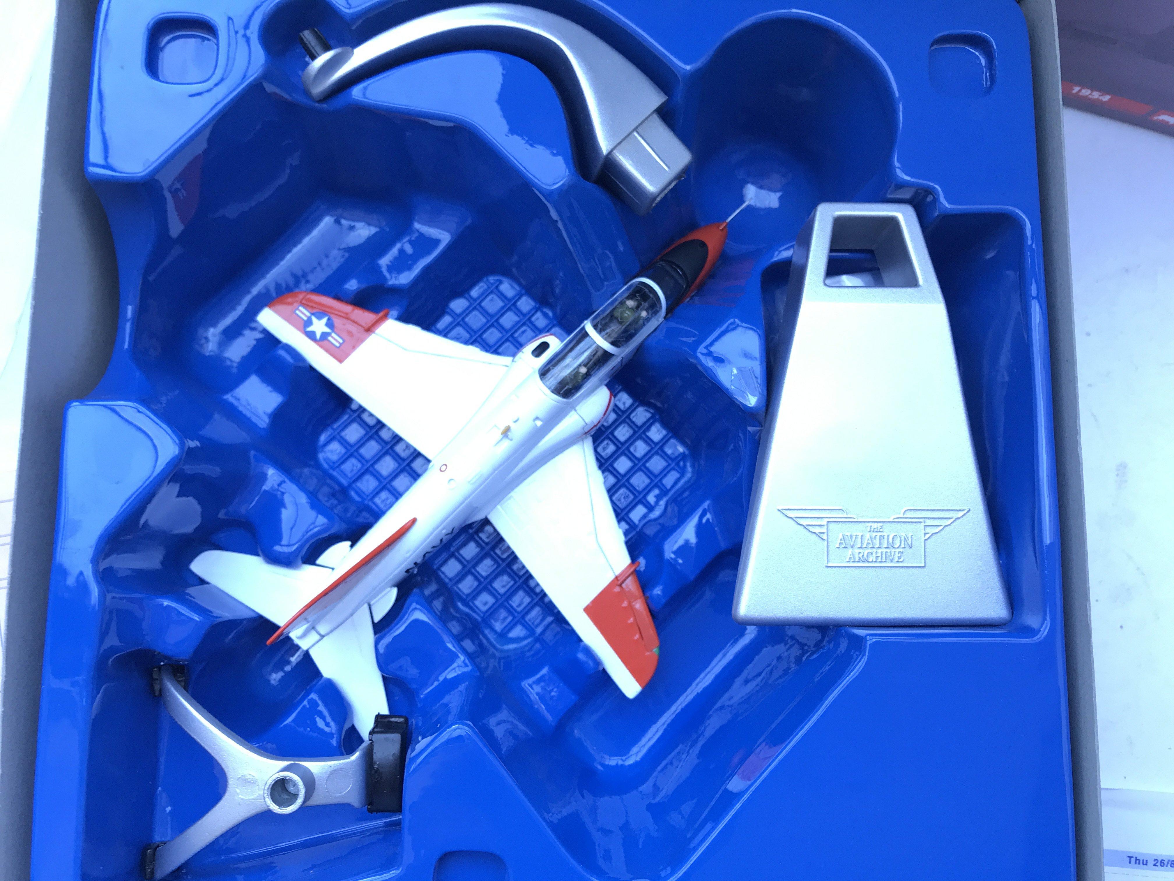 A Boxed Corgi McDonnell Douglas #AA36004 and a Glo - Image 2 of 3