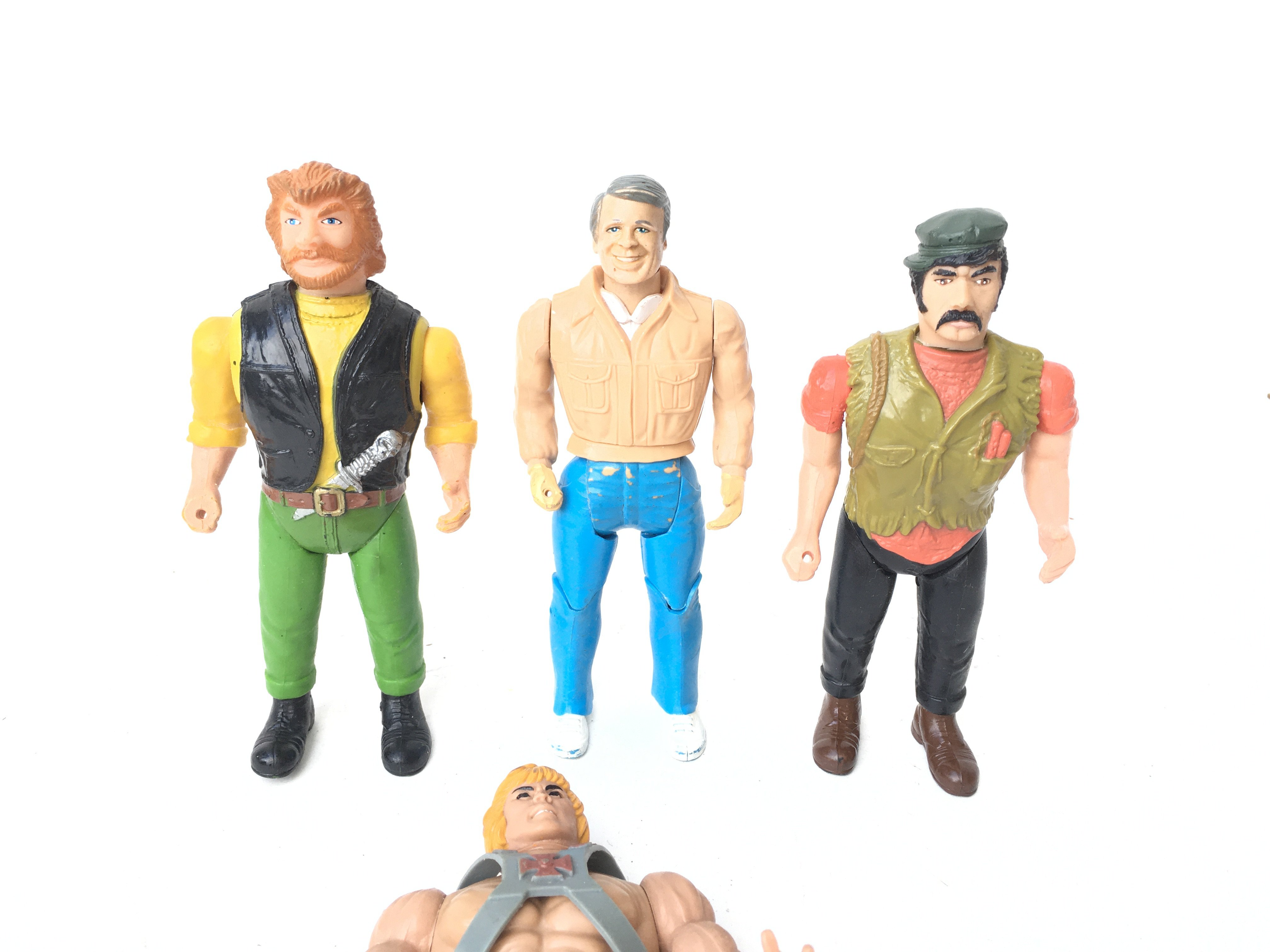3 X The A-Team Figures and a Broken He-Man Figure. - Image 2 of 3