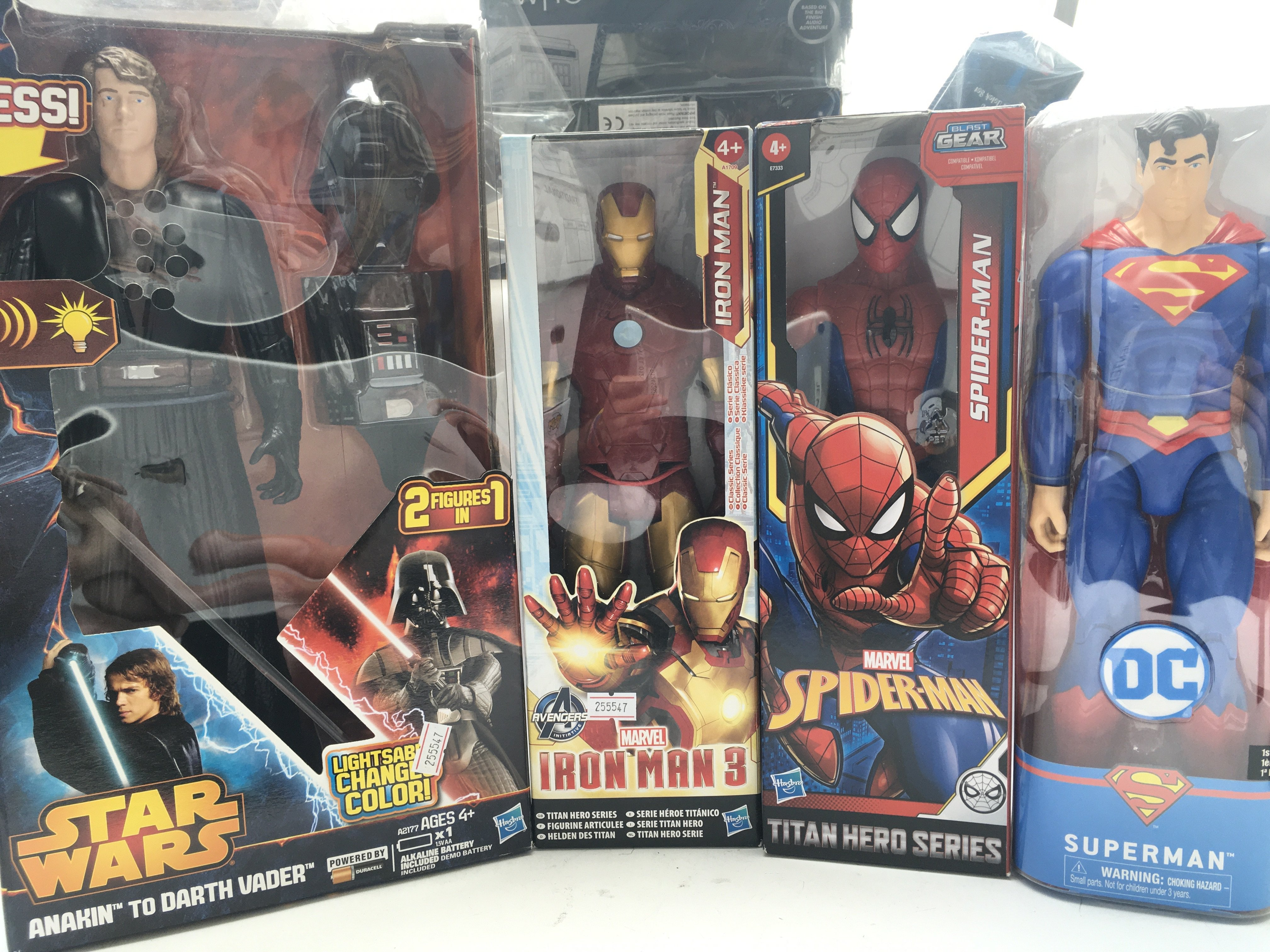 """A Collection of Marvel/ DC 12"""" Figures. A Talkin - Image 3 of 3"""