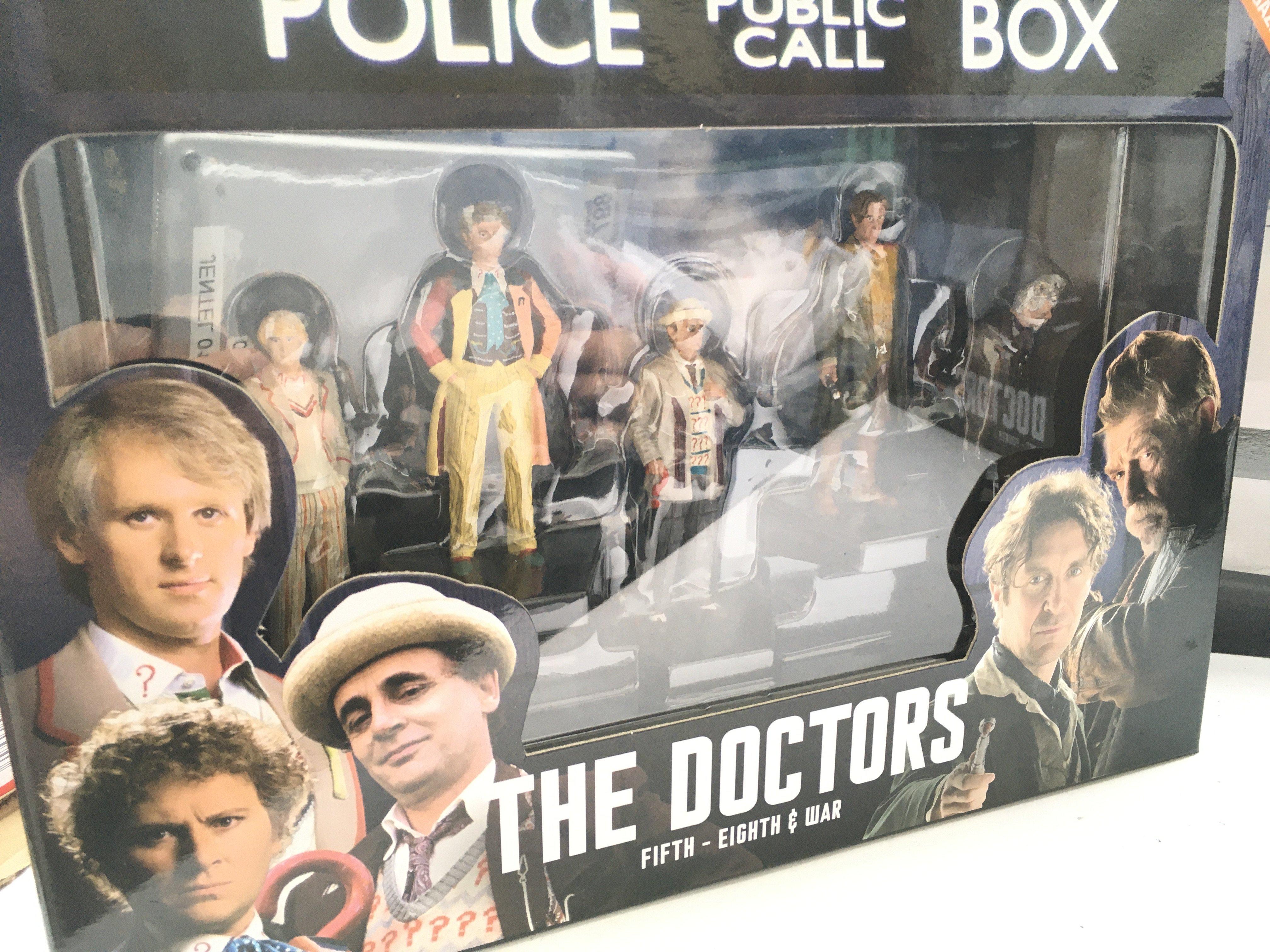3 X Doctor Who EagleMoss Figurine Sets including a - Image 2 of 4