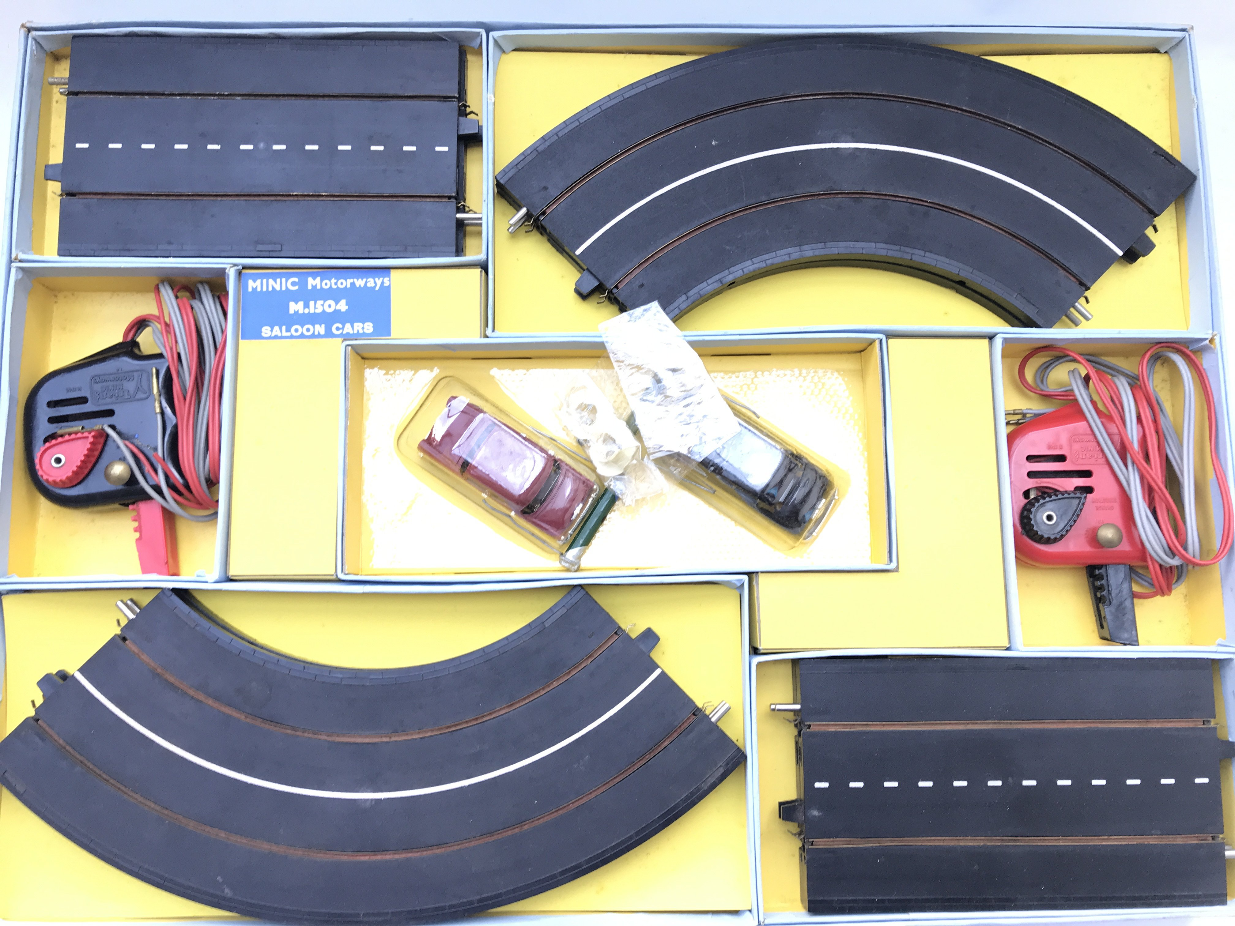 A Boxed Tri-ang Minic Motorways Set #M.1504. - Image 2 of 2